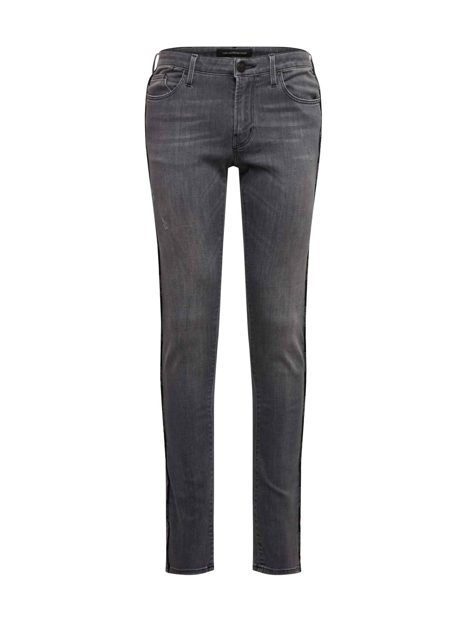 Karl Lagerfeld Denim Džíny 'MP0001'  tmavě šedá