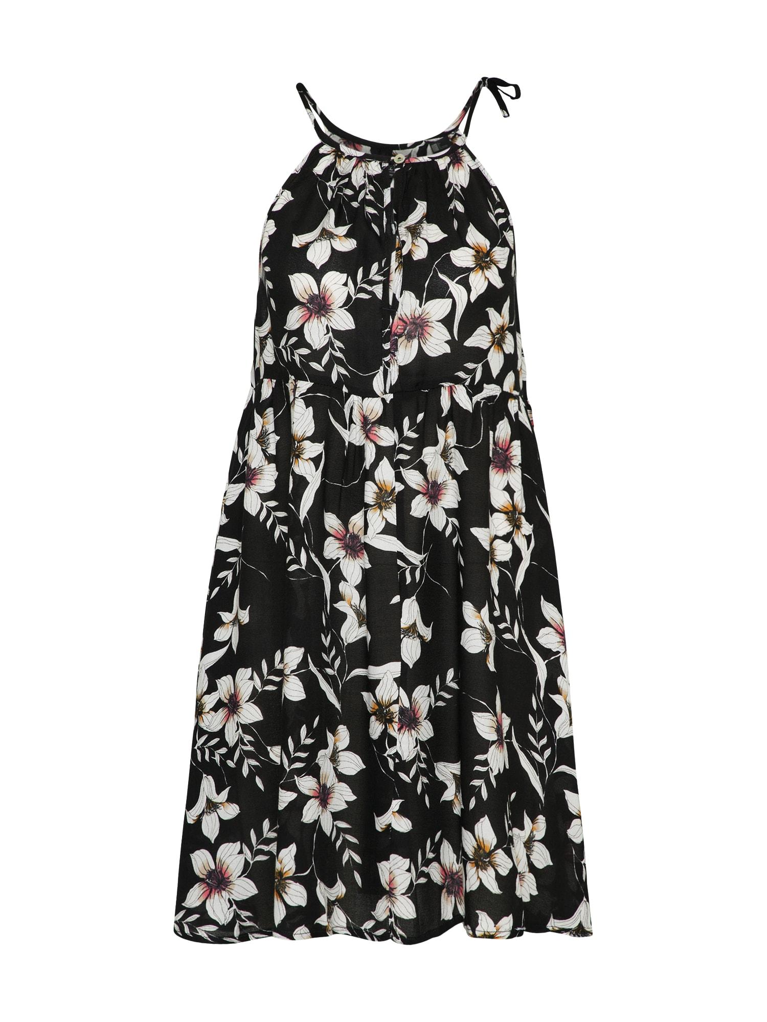 ONEILL Letní šaty černá bílá O'NEILL