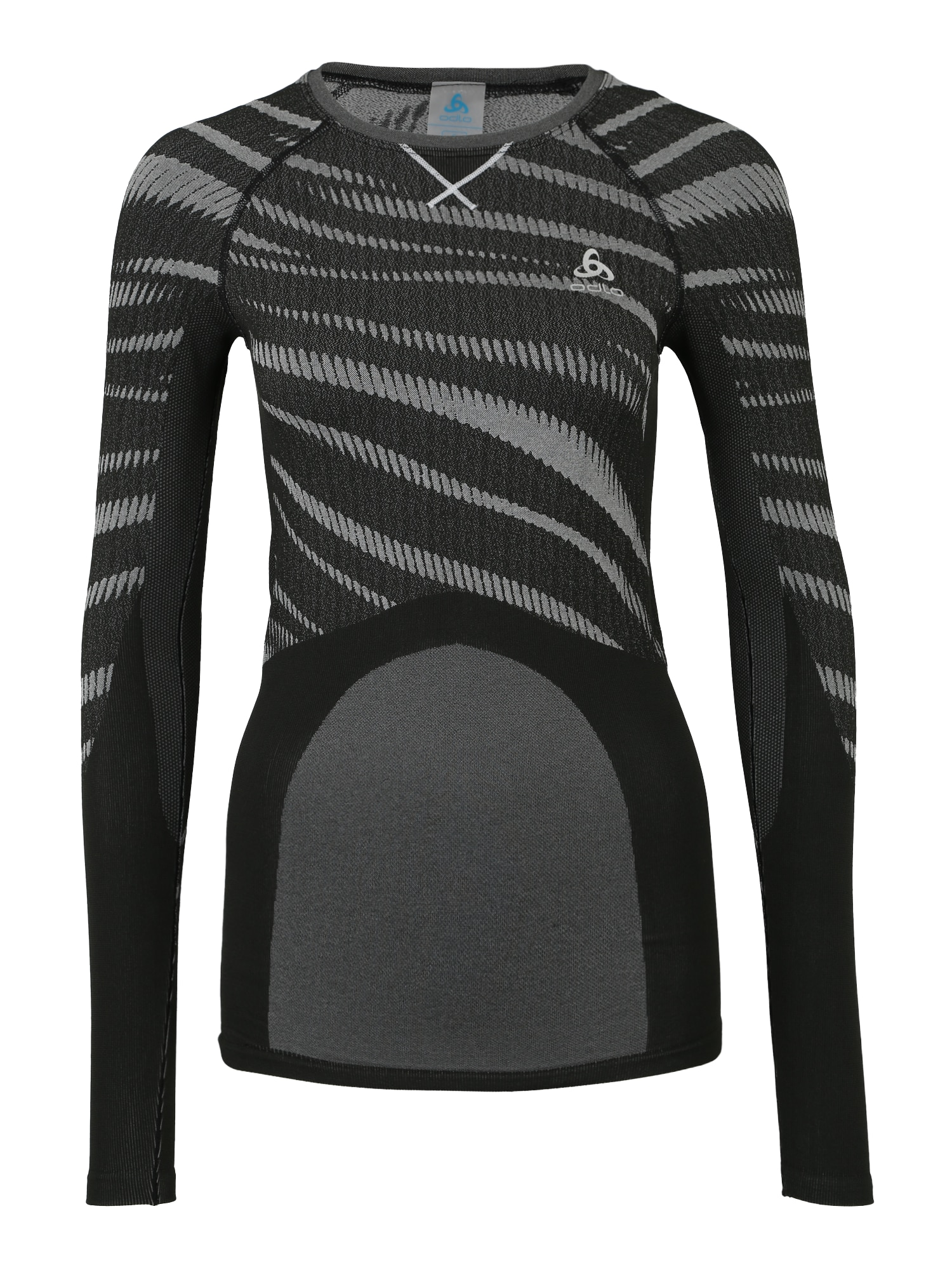 Sportshirt 'PERFORMANCE Blackcomb' | Sportbekleidung > Sportshirts > T-Shirts | Grau - Schwarz | ODLO