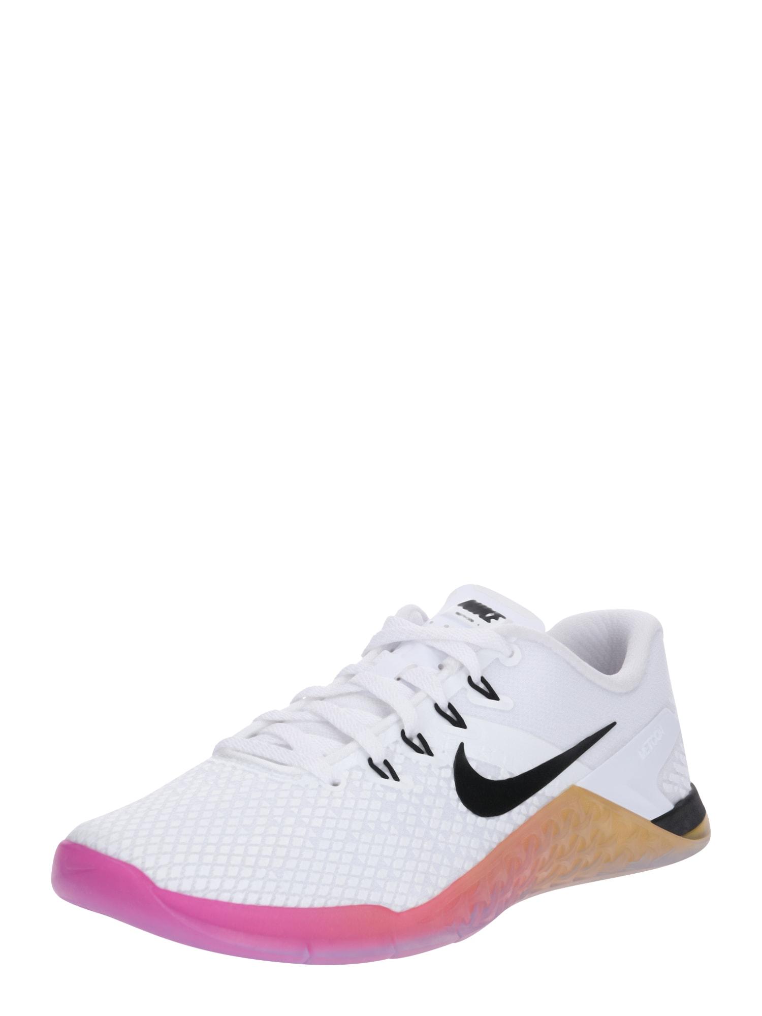 Sportovní boty WMNS METCON 4 XD pink černá bílá NIKE
