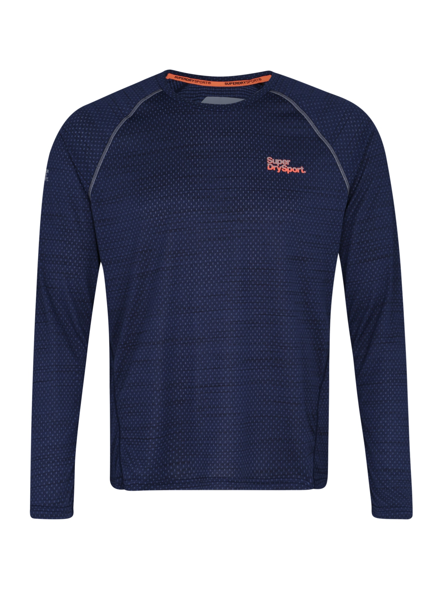 Funkční tričko ACTIVE LOOSE MICROVENT LS TEE námořnická modř Superdry