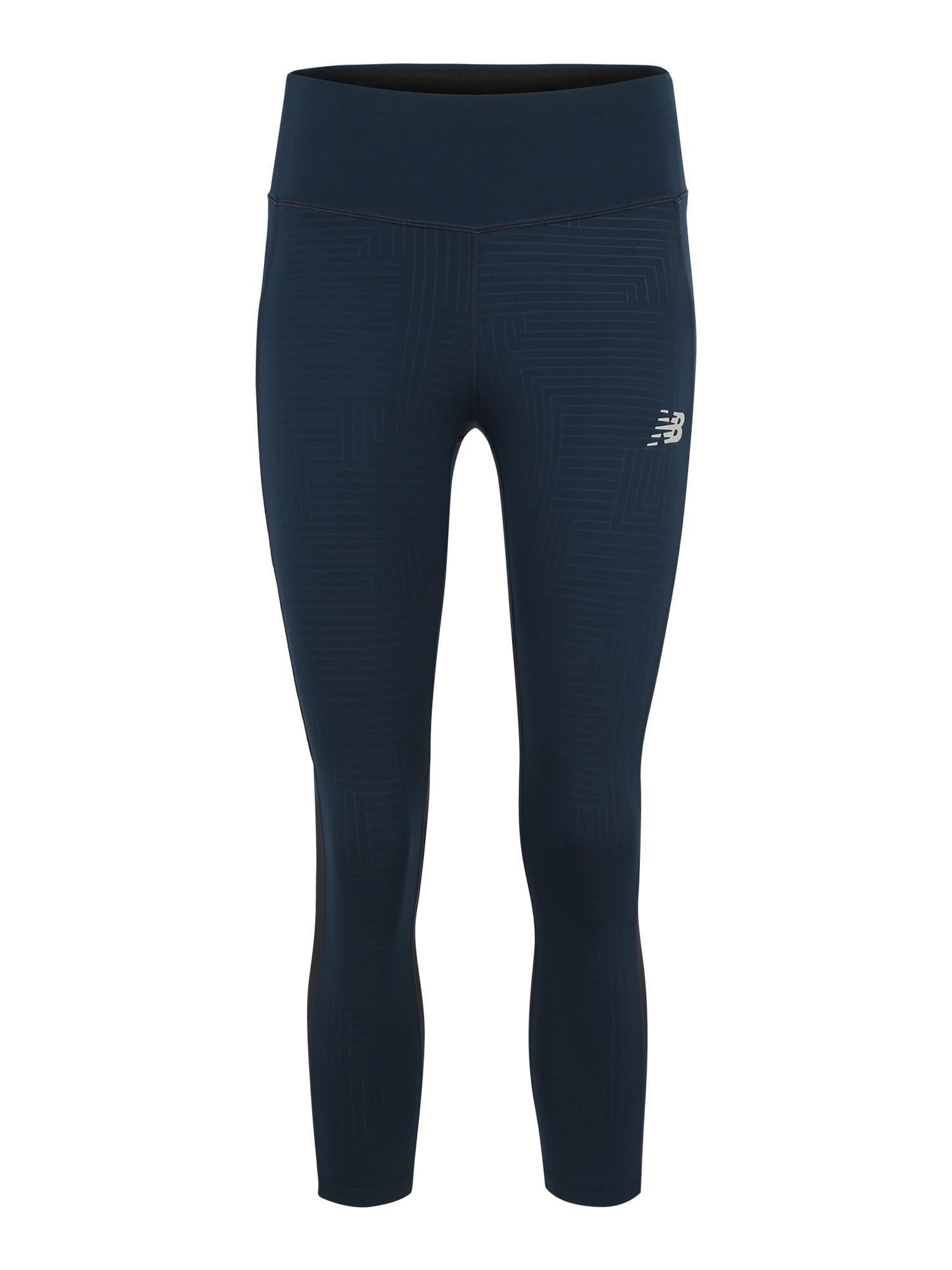Sportovní kalhoty WP83227  noční modrá New Balance
