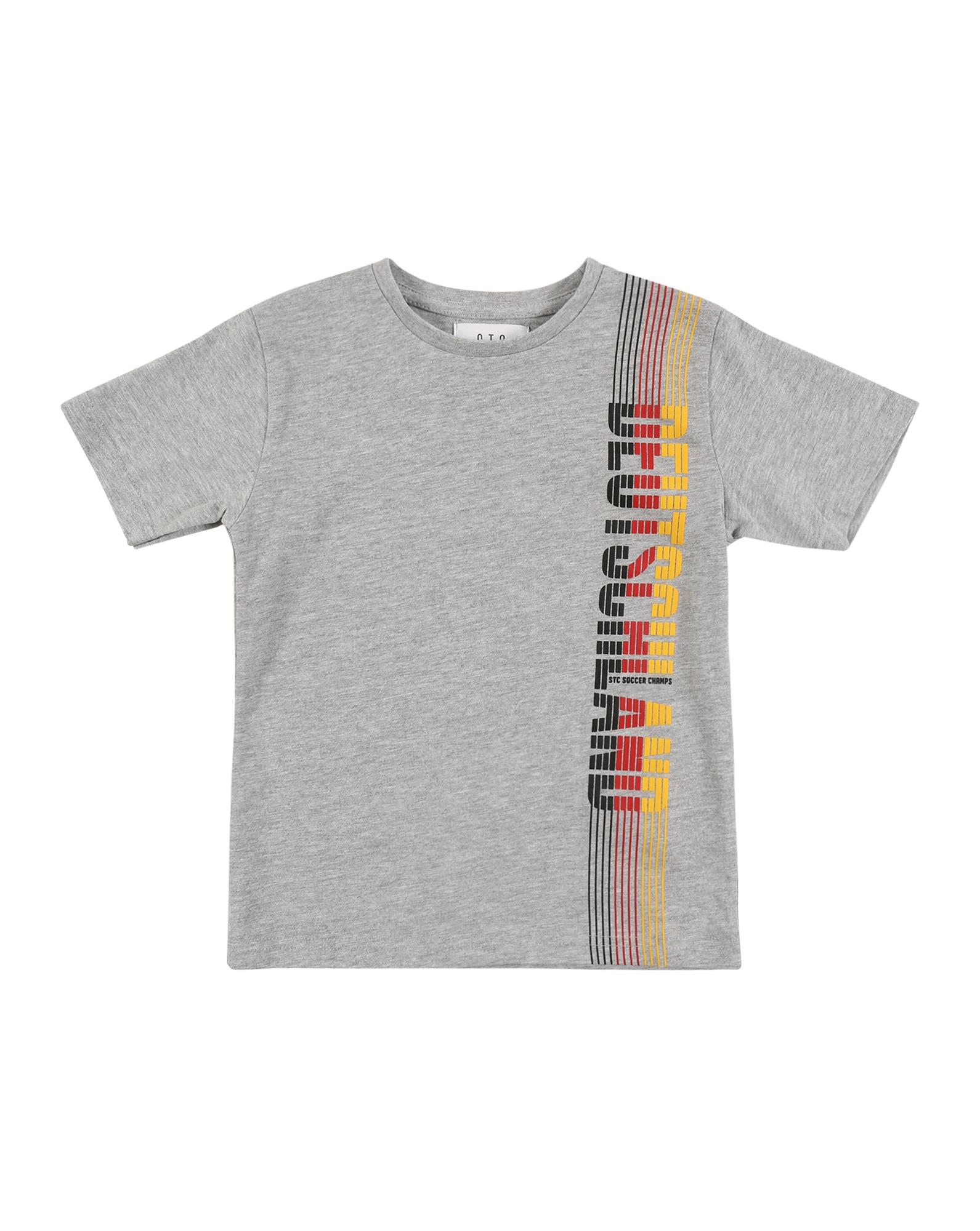 STACCATO Tričko  šedý melír