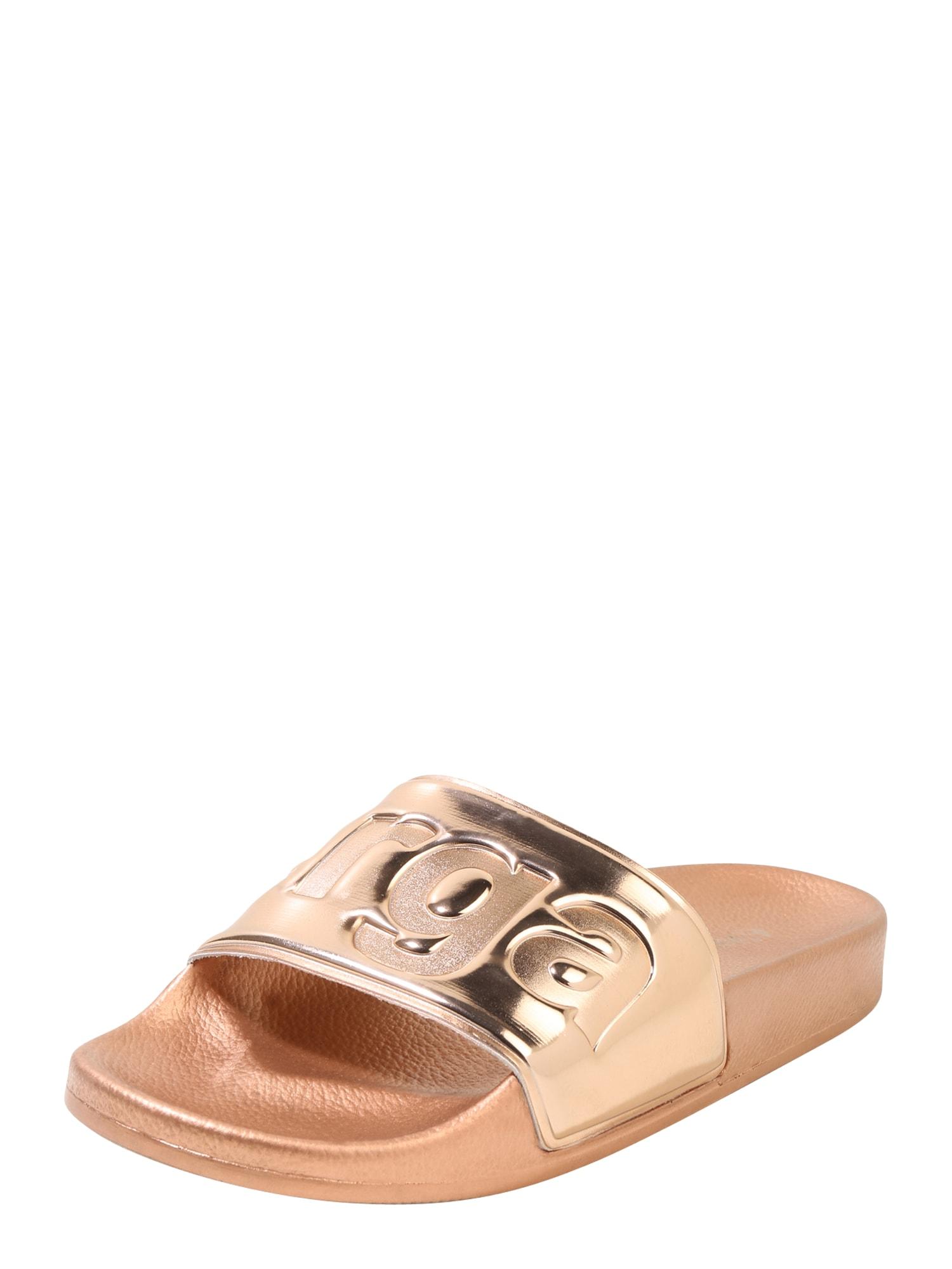 Pantofle zlatá SUPERGA