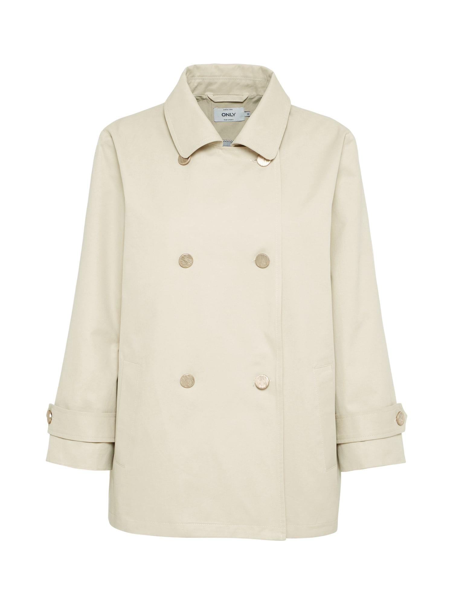 Přechodný kabát onlMELIA béžová ONLY