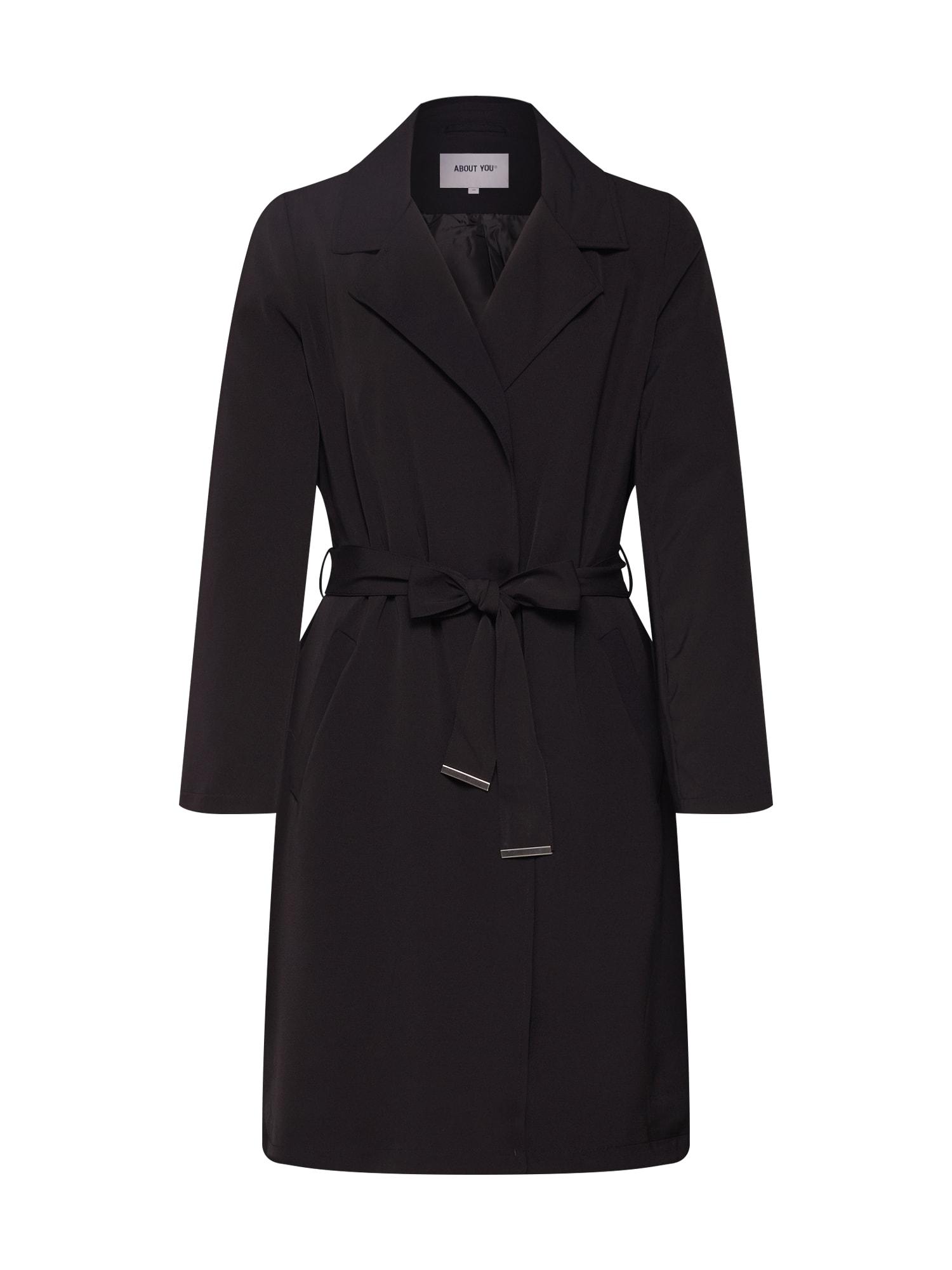 Přechodný kabát Cara černá ABOUT YOU