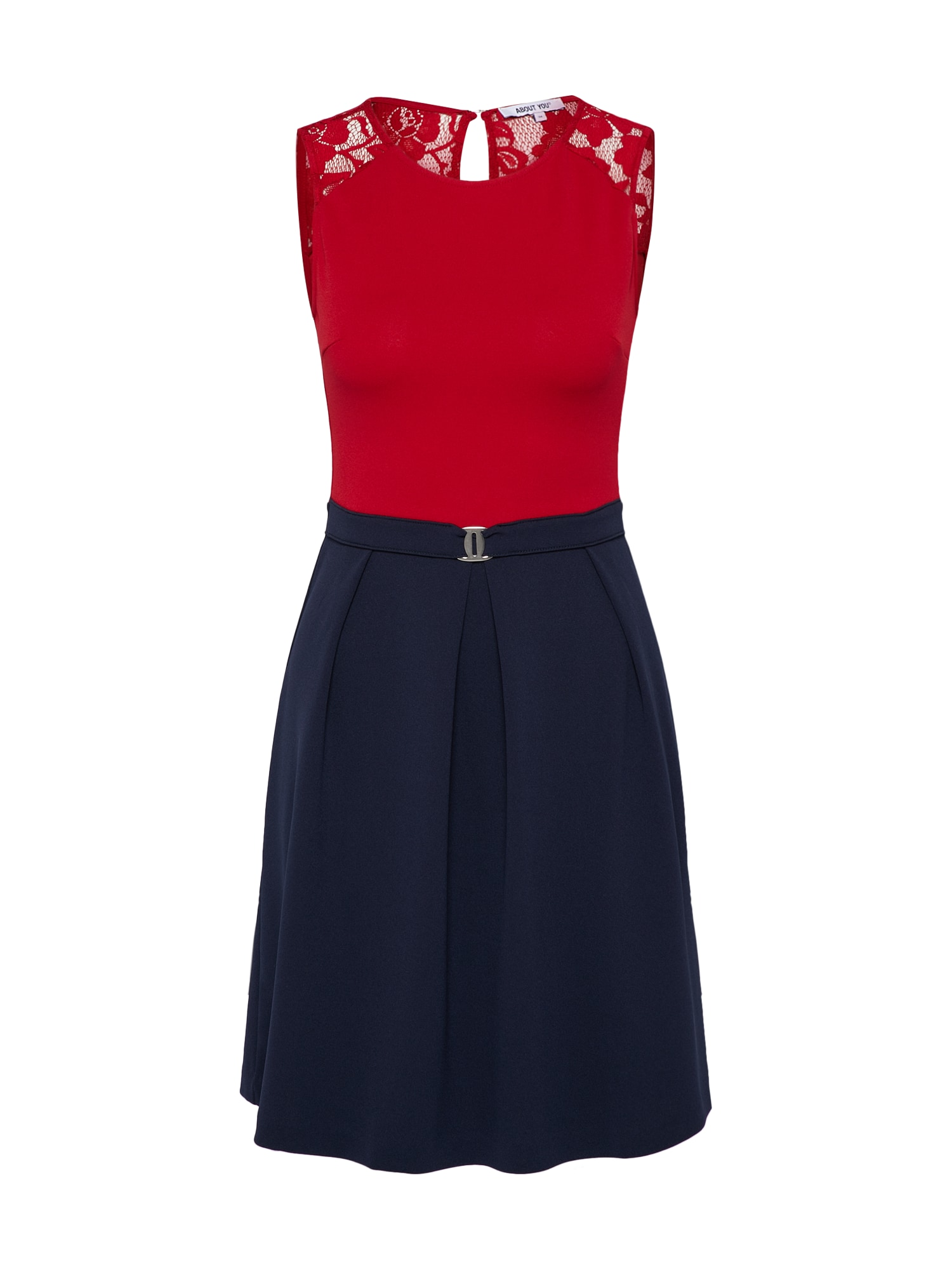 ABOUT YOU Jurk 'Lucille' blauw / rood