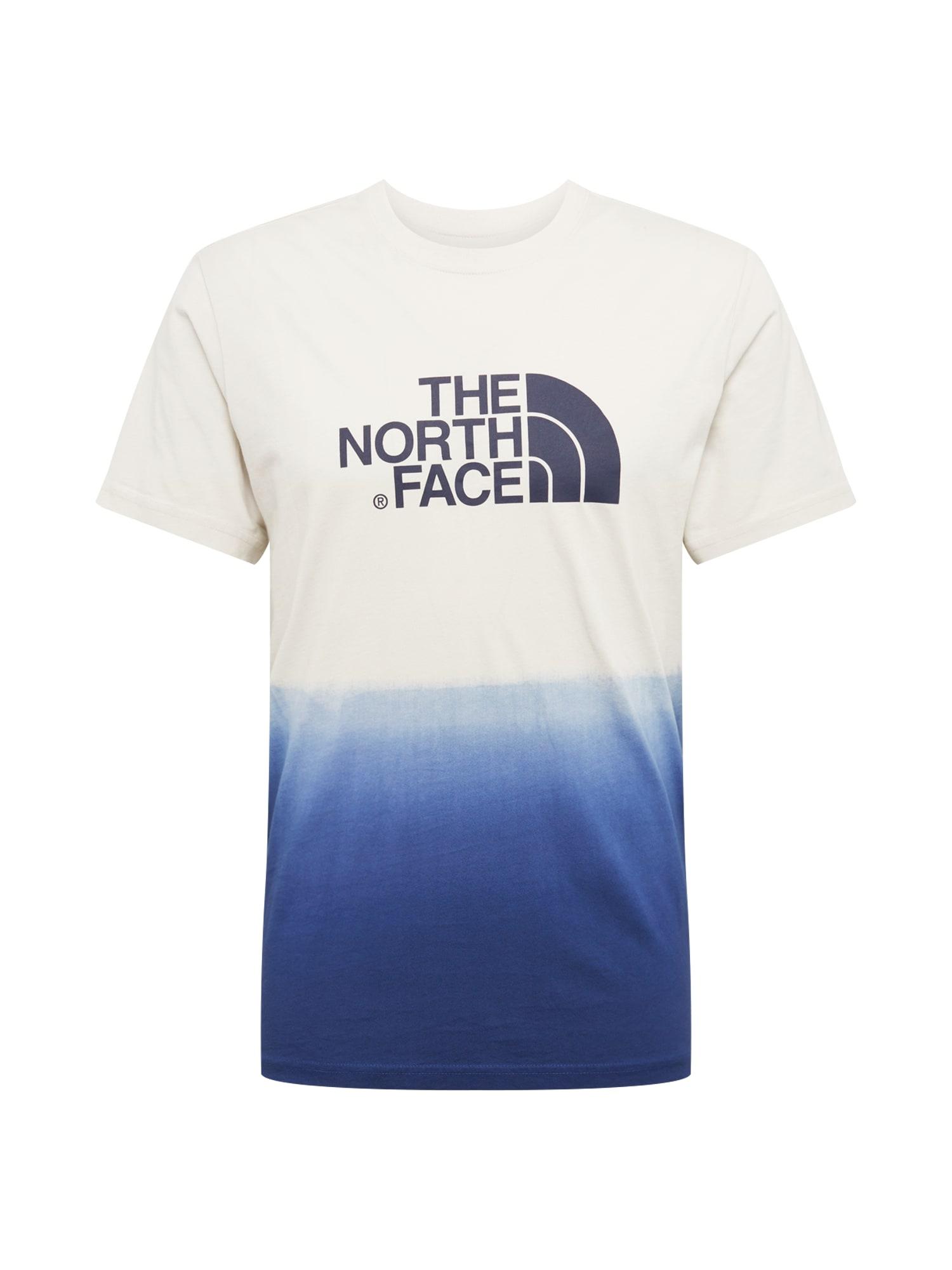 Tričko tmavě modrá bílá THE NORTH FACE