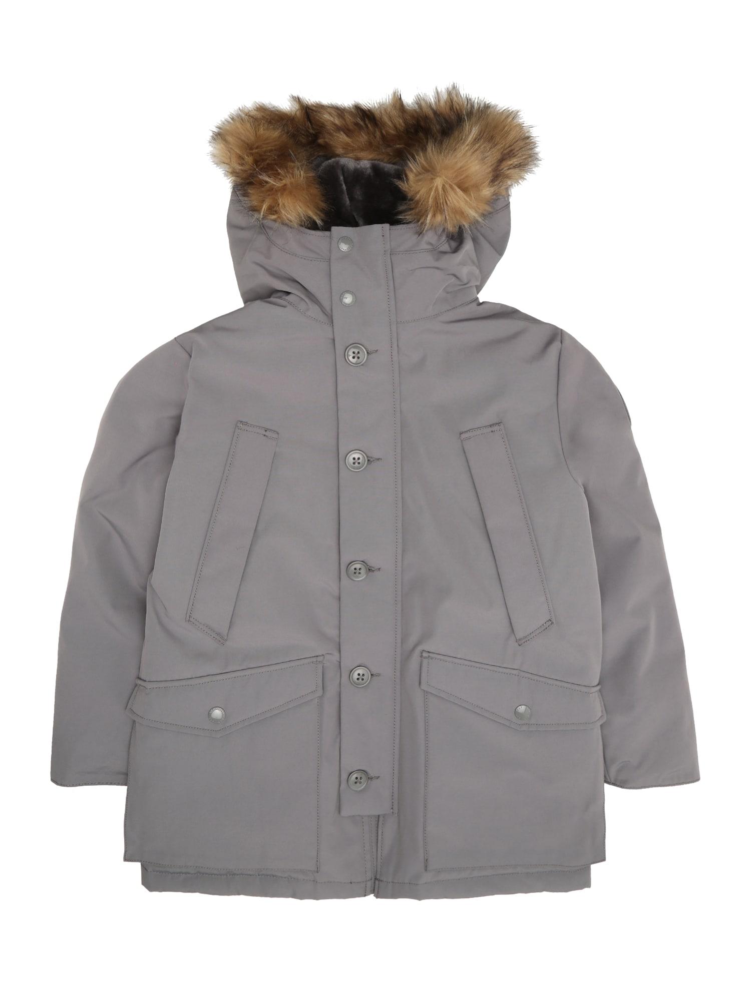 Zimní bunda WARMEST šedá GAP