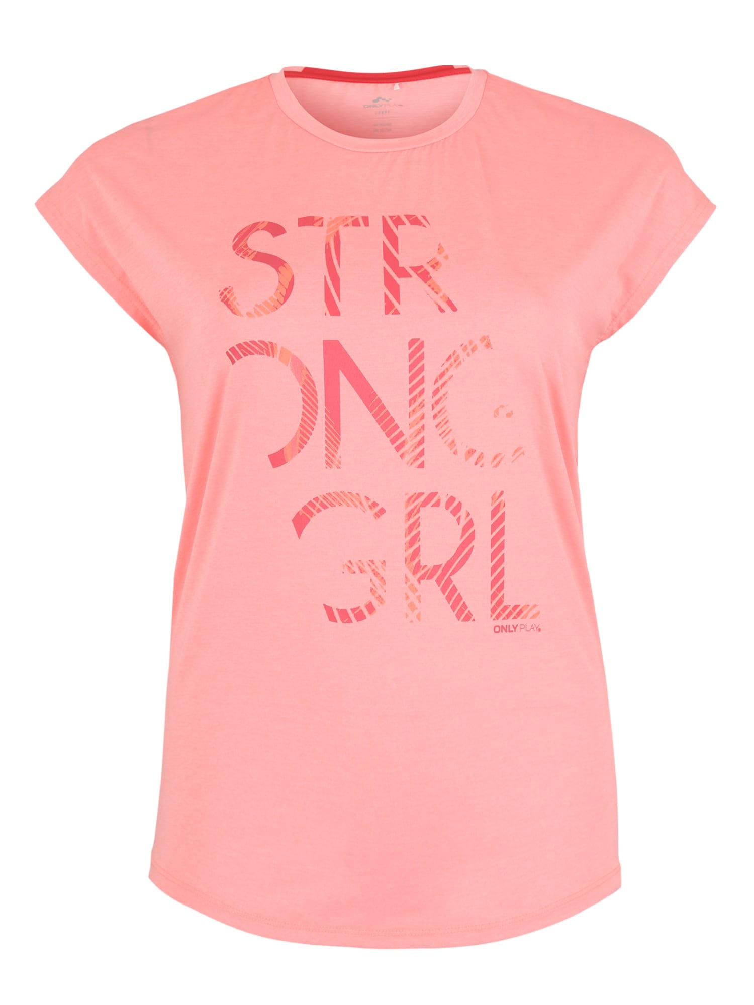 Funkční tričko onpEMILIA pink Only Play Curvy