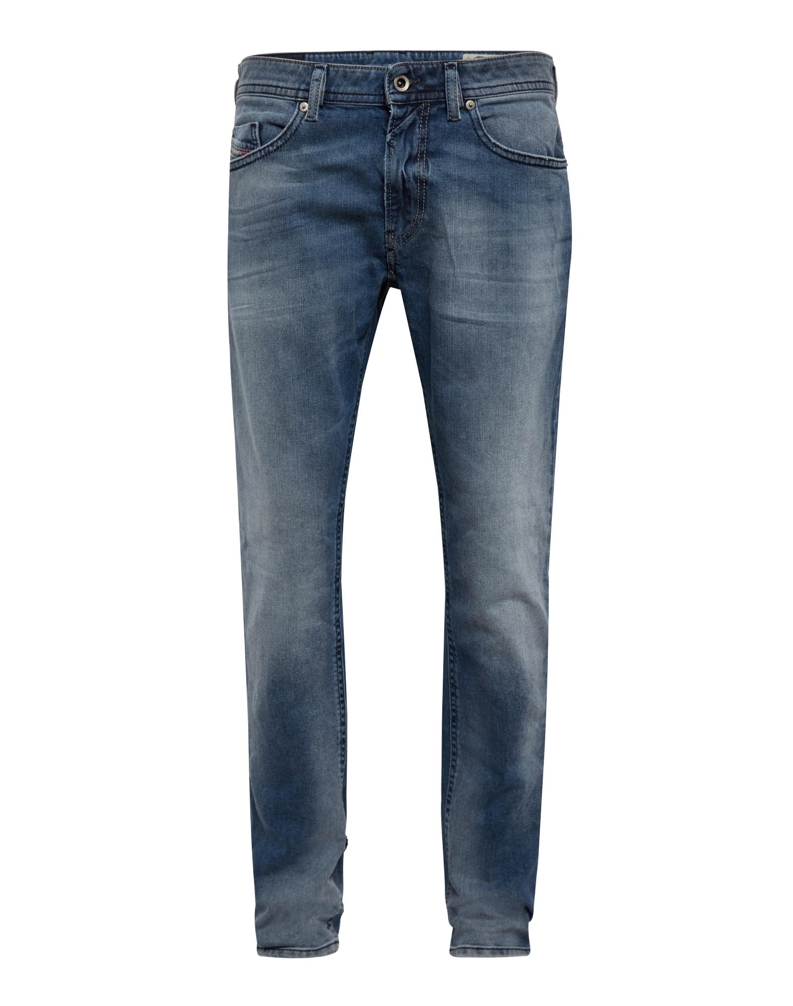 DIESEL Heren Jeans Thommer Jeans Skinny Fit 845F blue denim
