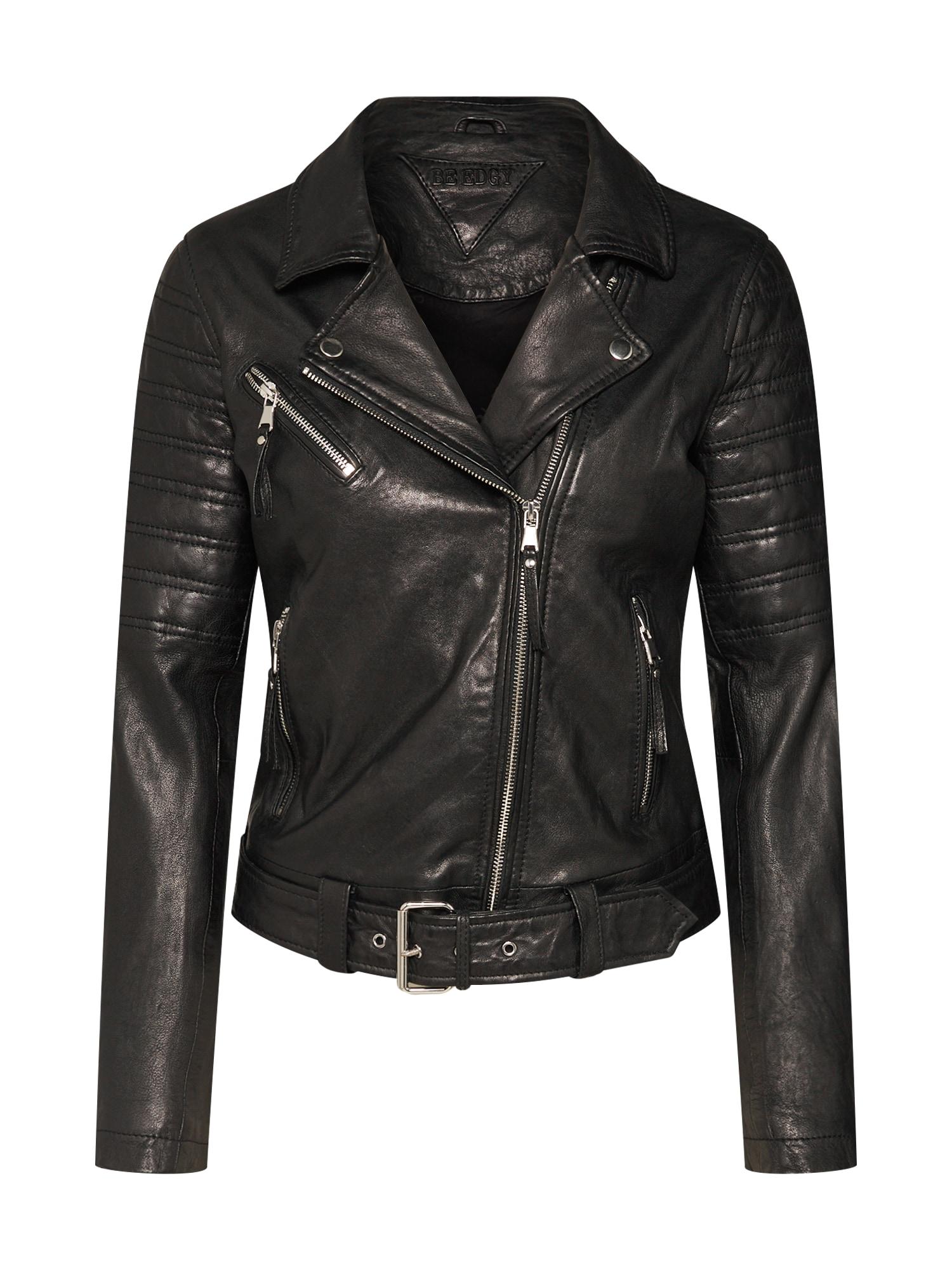 Přechodná bunda BEsadie černá BE EDGY