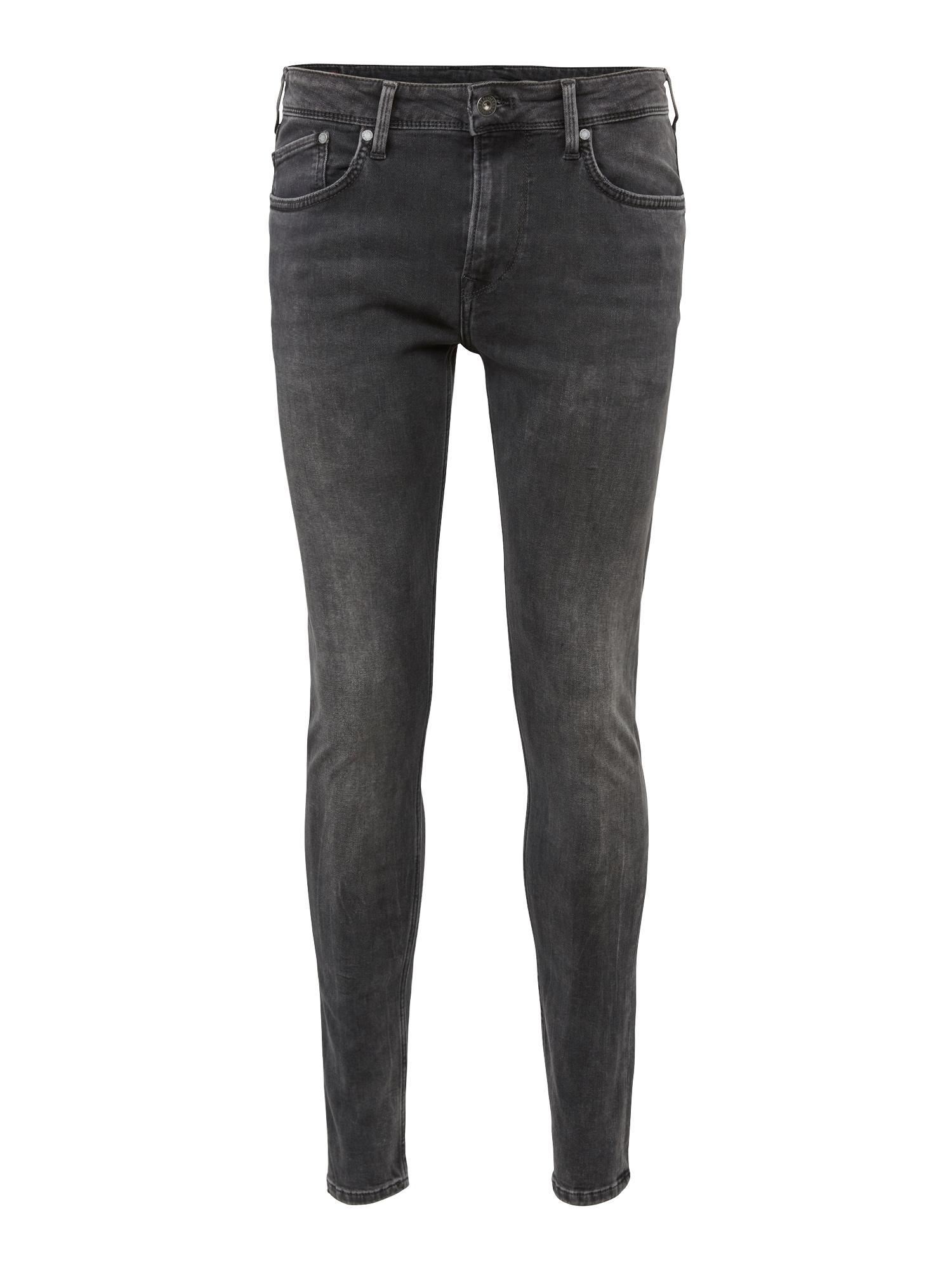 Pepe Jeans Heren Jeans Finsbury grey denim