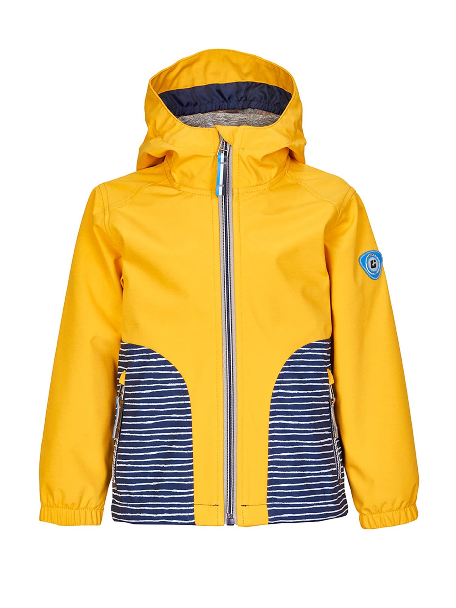 Funkční bunda Lally Mini tmavě modrá žlutá KILLTEC