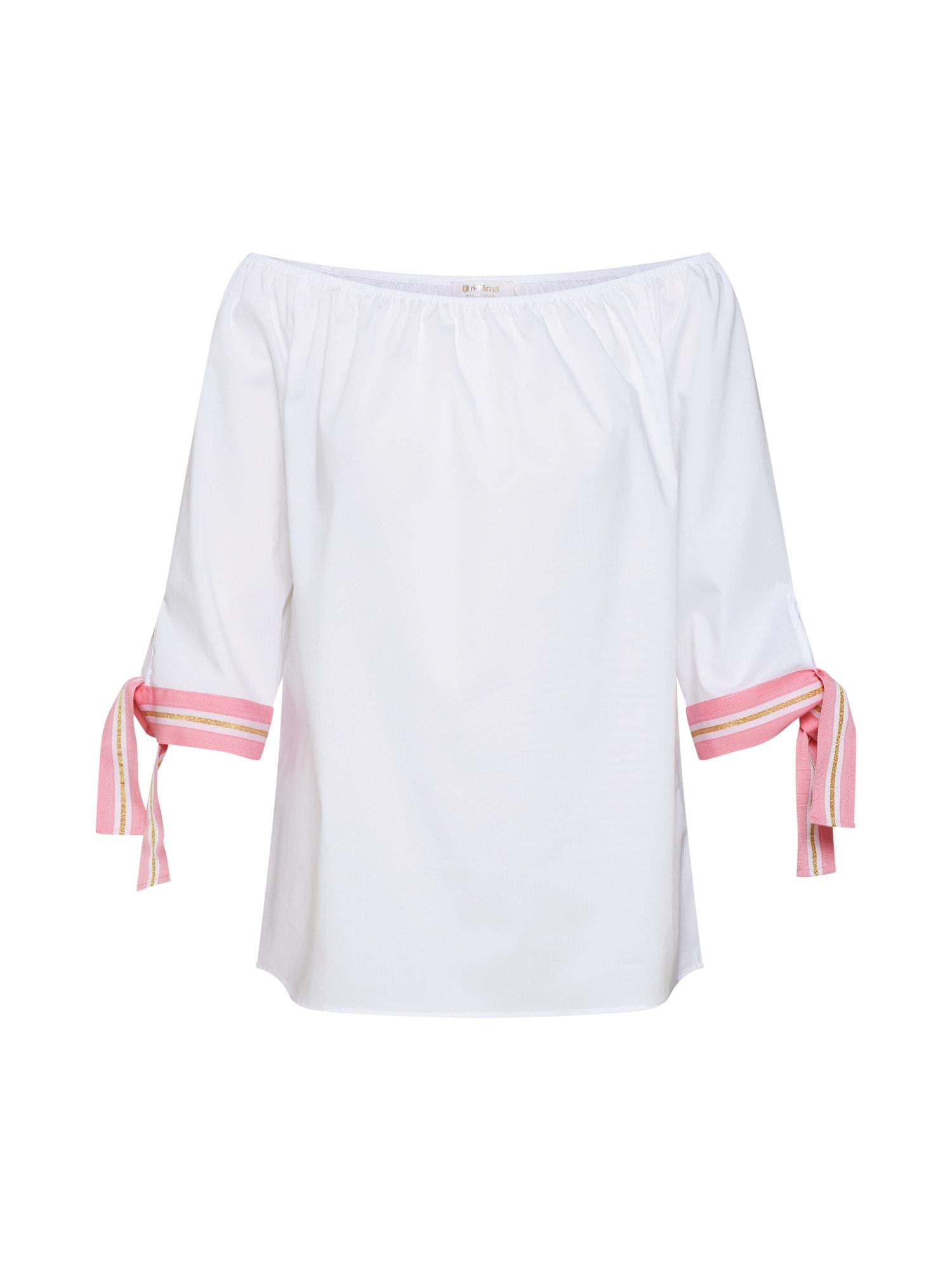 Halenka oranžová pink bílá Rich & Royal