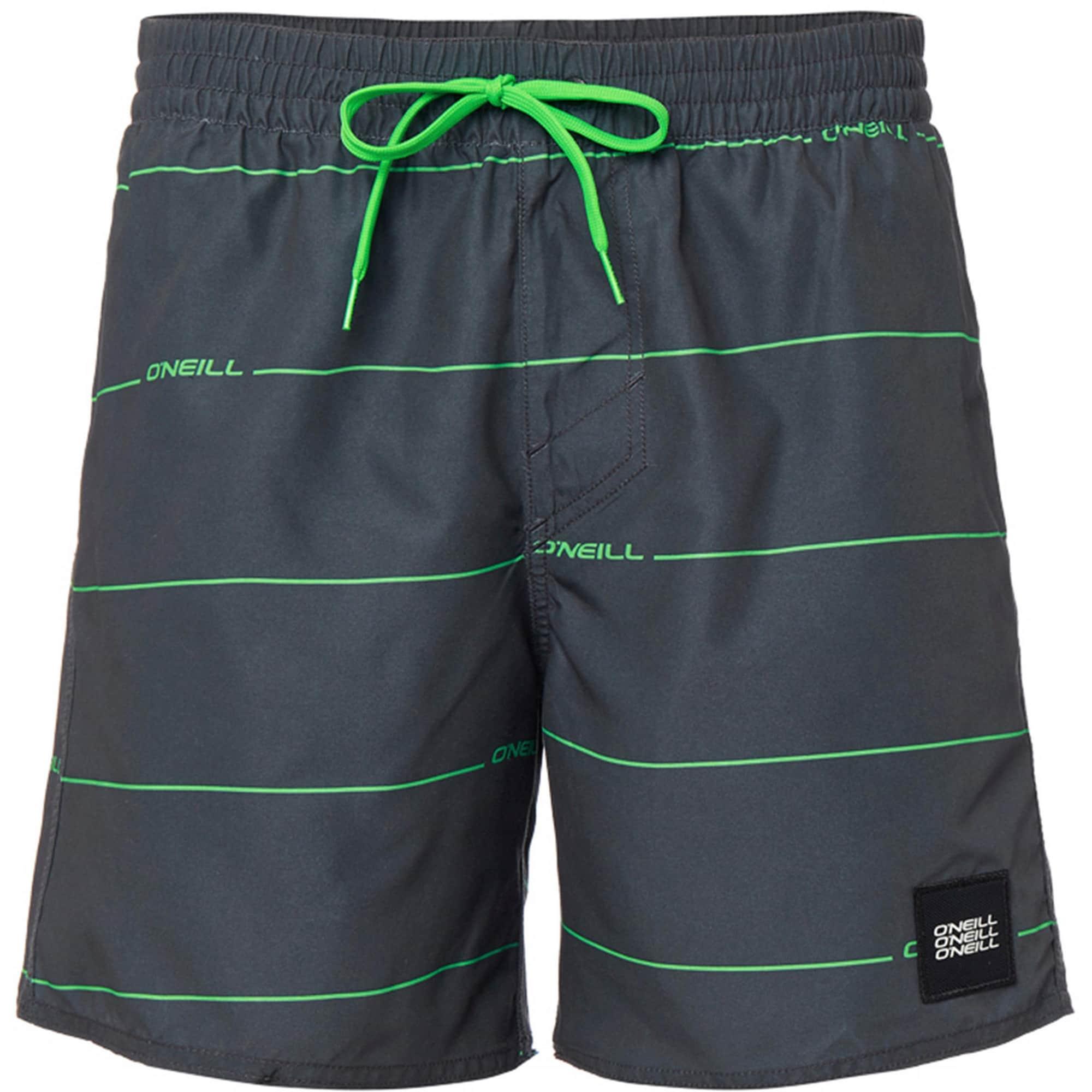 ONEILL Plavecké šortky Contourz grafitová zelená O'NEILL