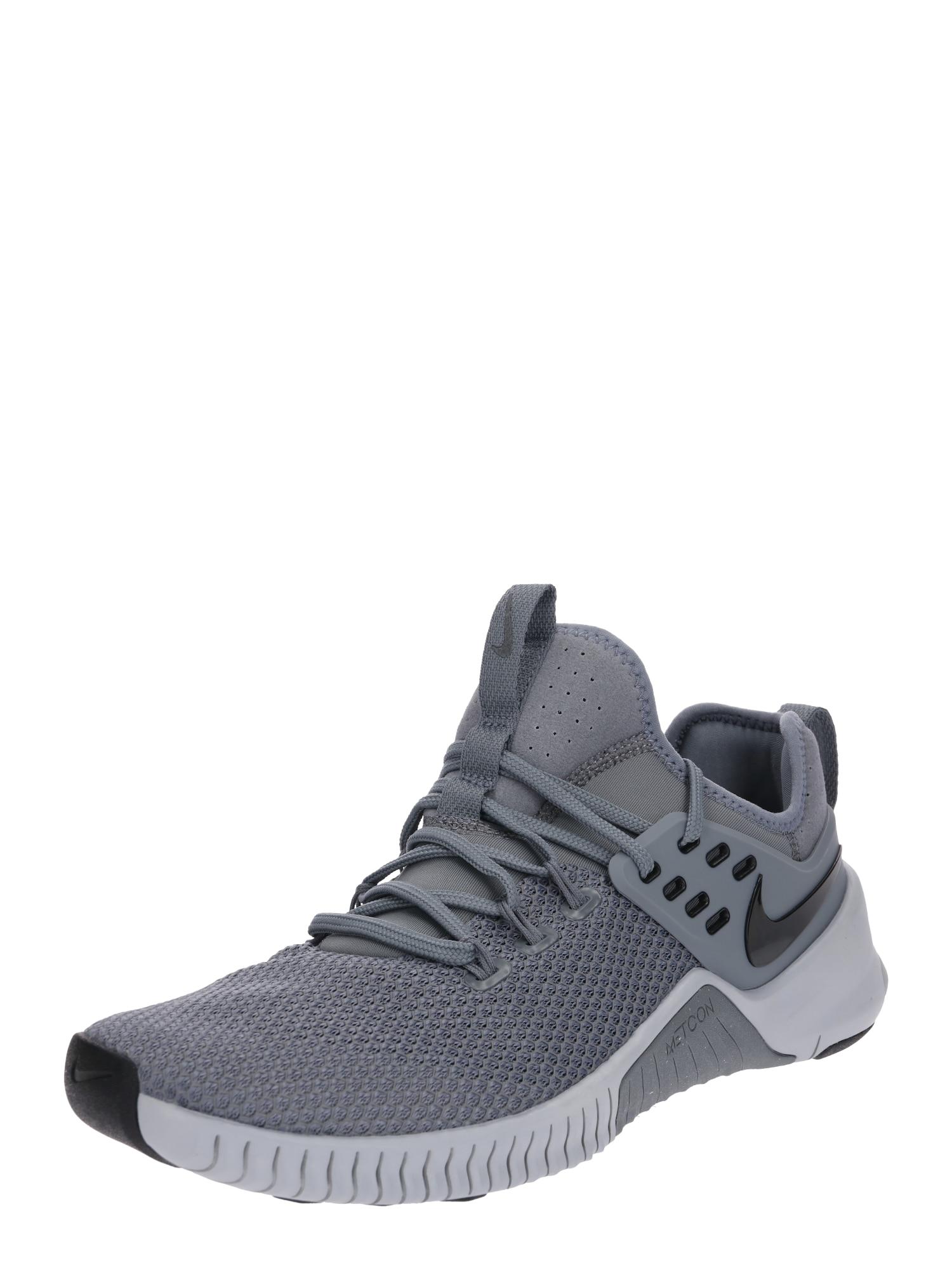 Sportovní boty Metcon Free šedá NIKE