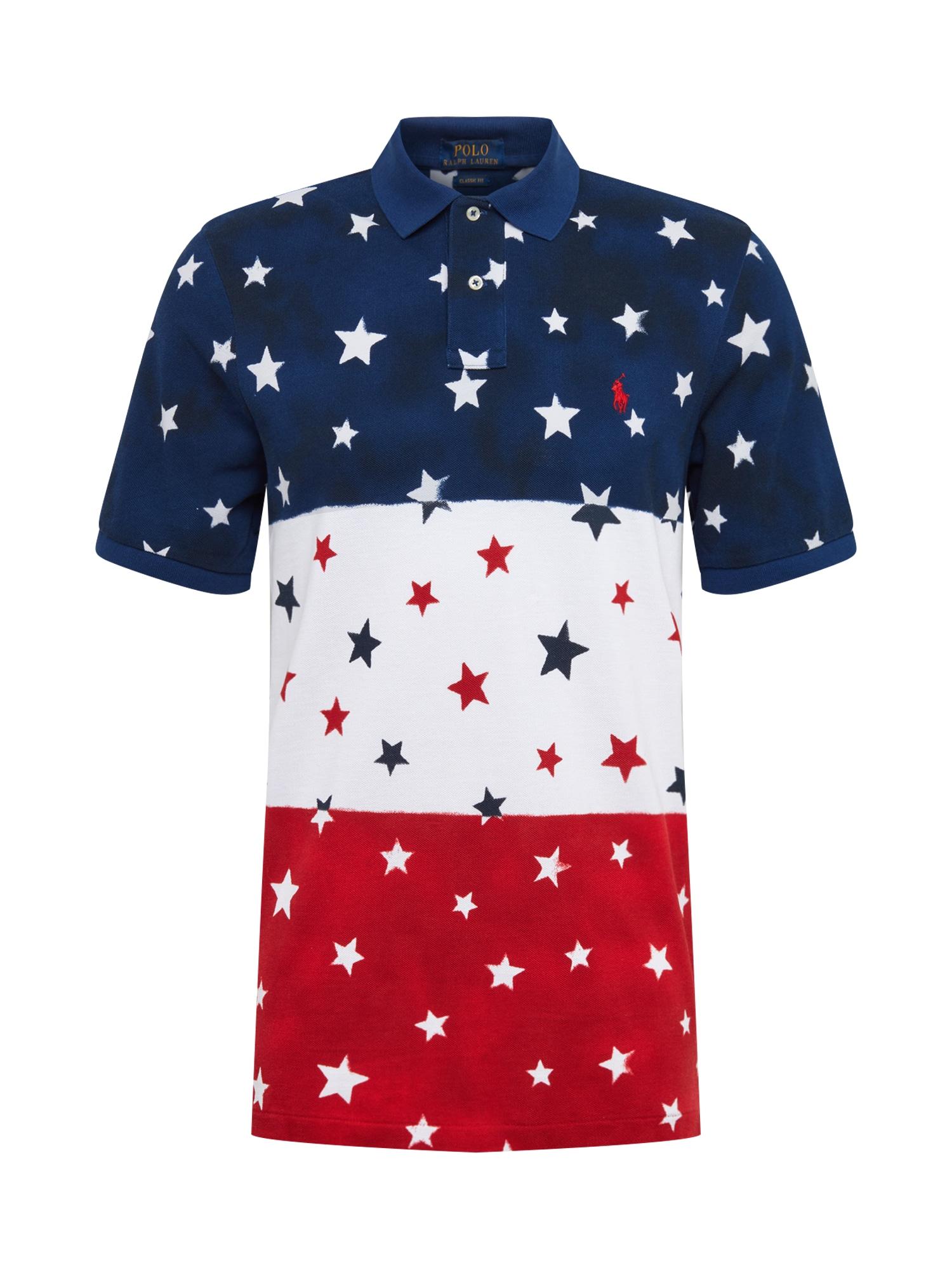 Tričko námořnická modř červená bílá POLO RALPH LAUREN