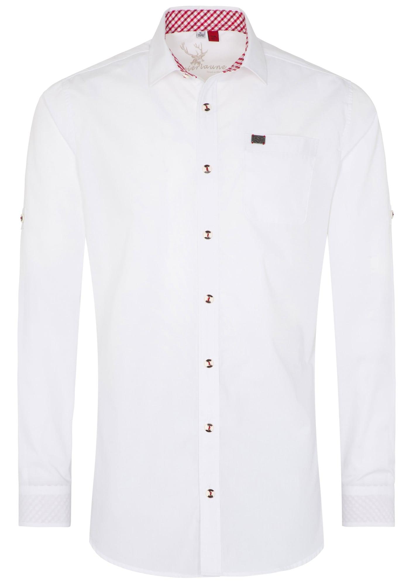 Trachtenhemd 'Kessel'   Bekleidung > Hemden > Trachtenhemden   Weiß   SPIETH & WENSKY