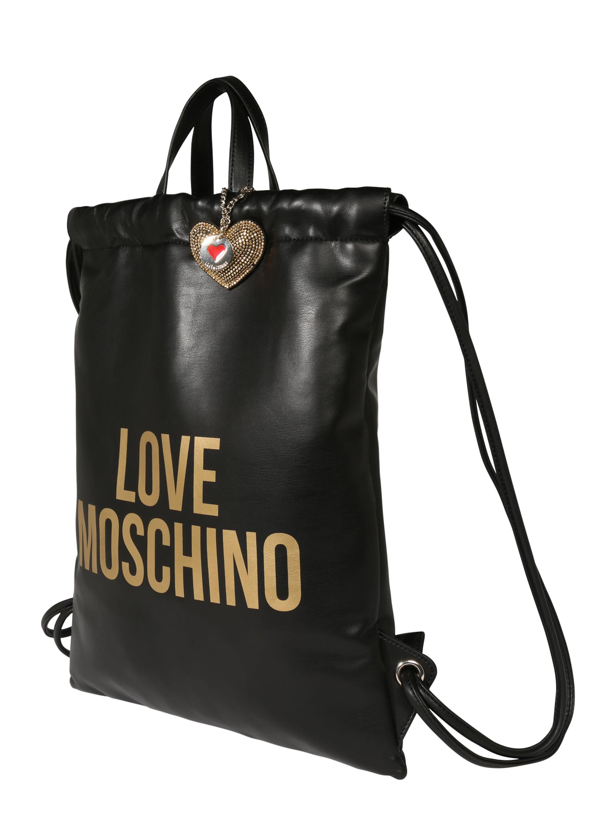 Love Moschino Plecak  czarny