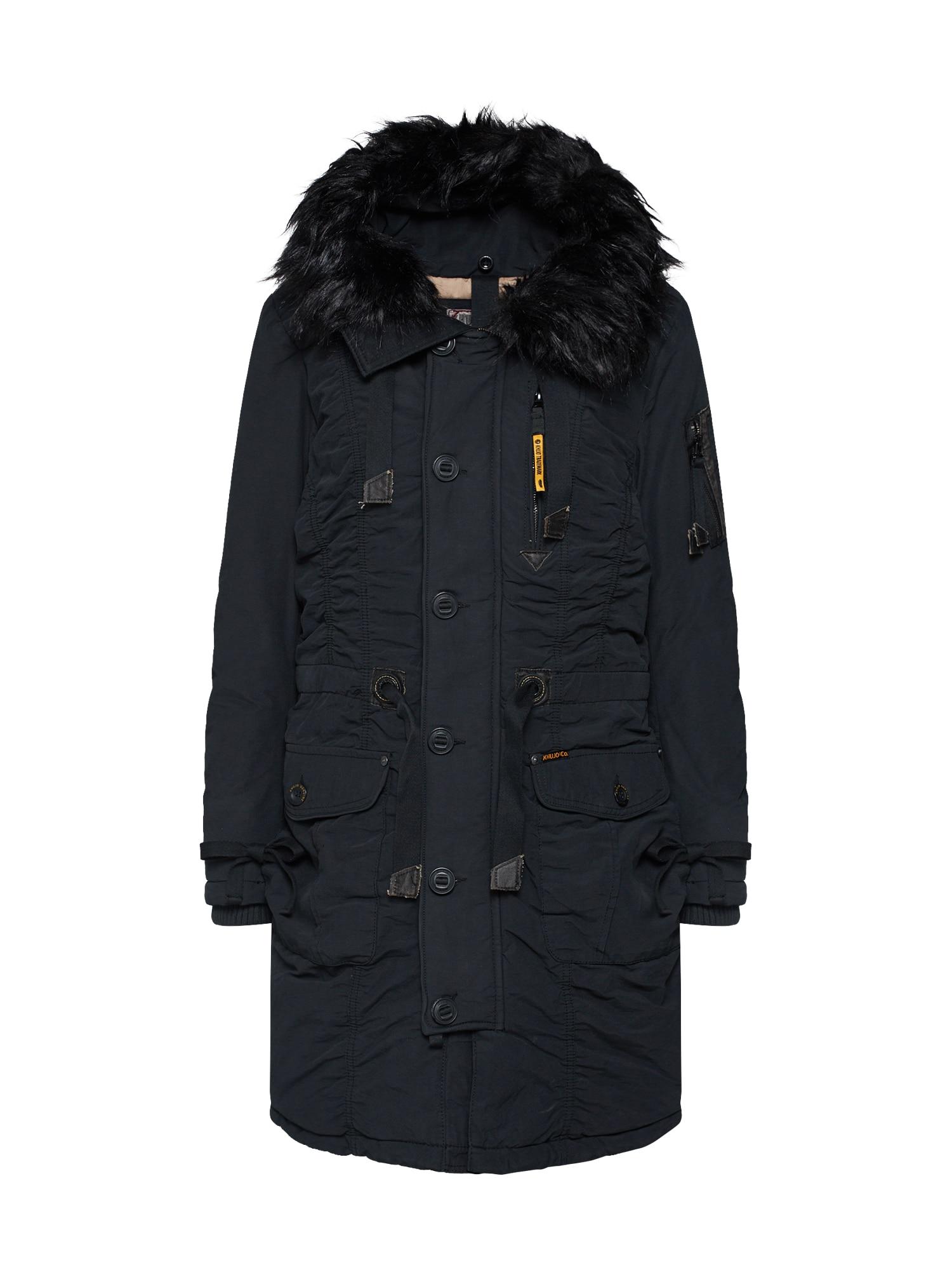 Zimní kabát STEFANIA černá Khujo