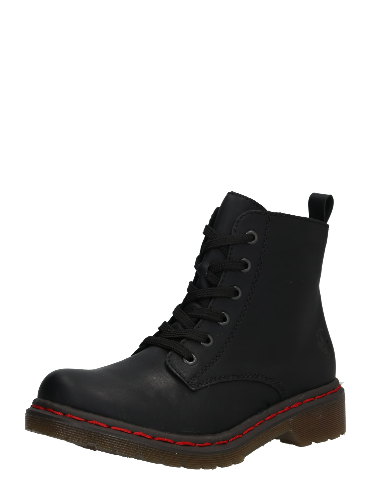 Šněrovací boty Y8210 hnědá černá RIEKER
