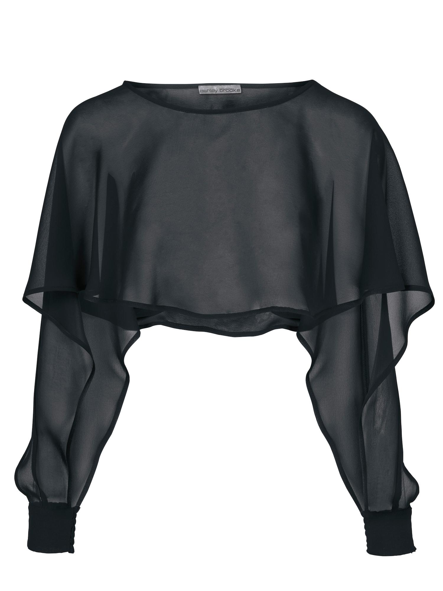 Pláštěnka černá Heine