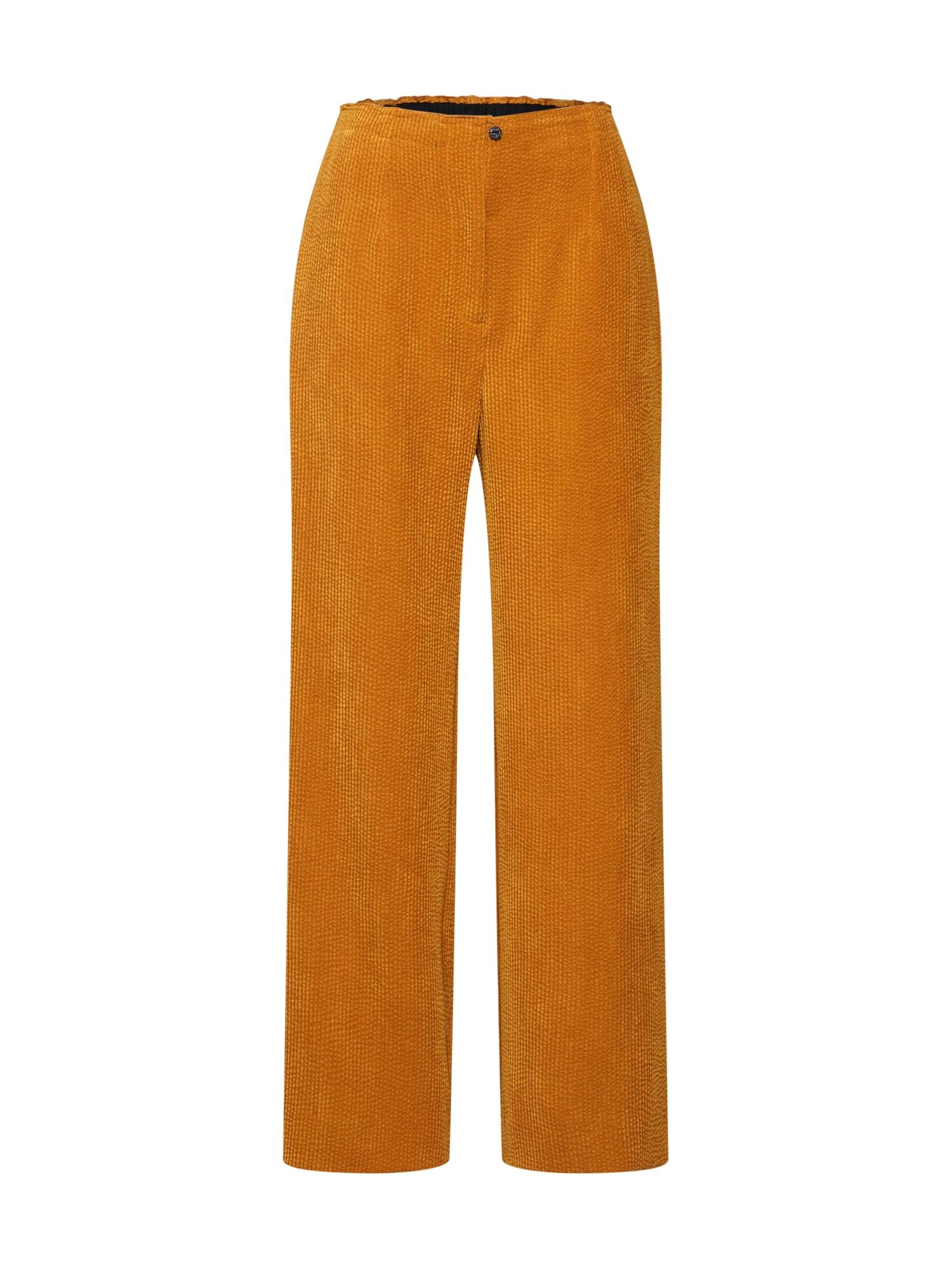 Kalhoty zlatě žlutá SECOND FEMALE