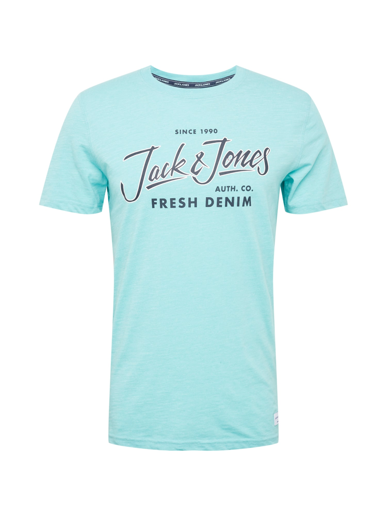 Tričko BEAMS TEE tyrkysová tmavě modrá JACK & JONES