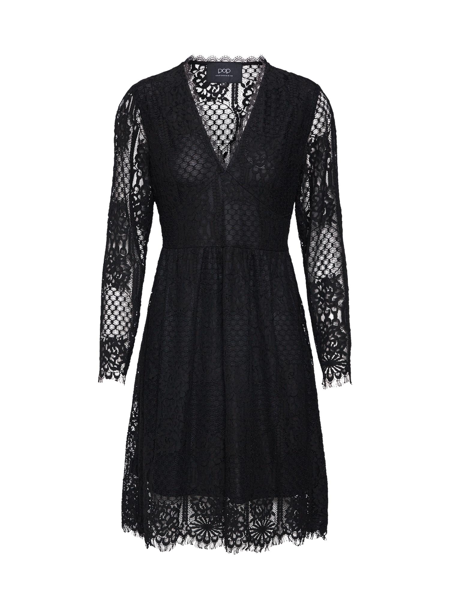 Šaty Gypsy Lace Dress černá Pop Copenhagen