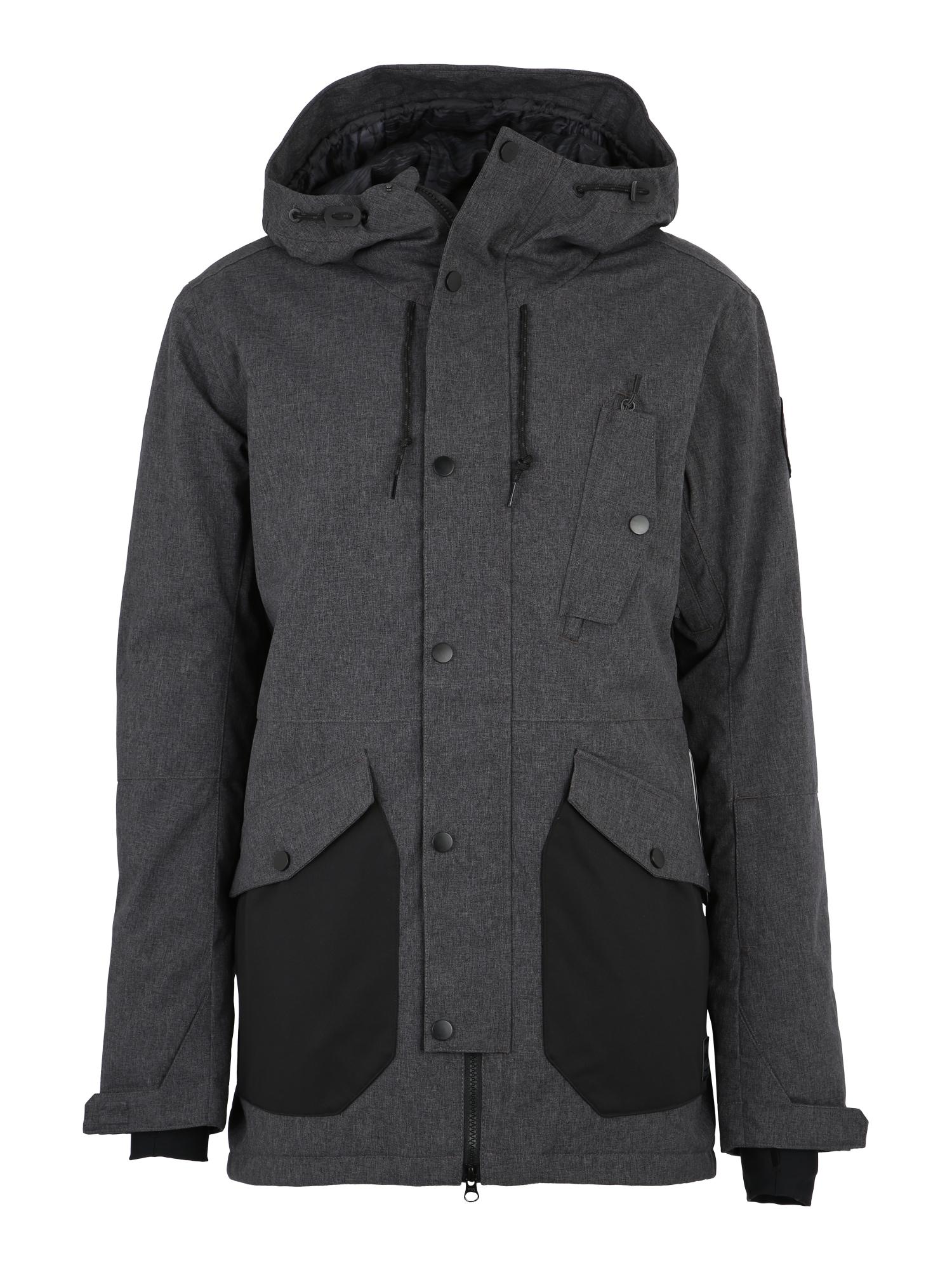 Outdoorová bunda Adversary antracitová tmavě šedá BILLABONG