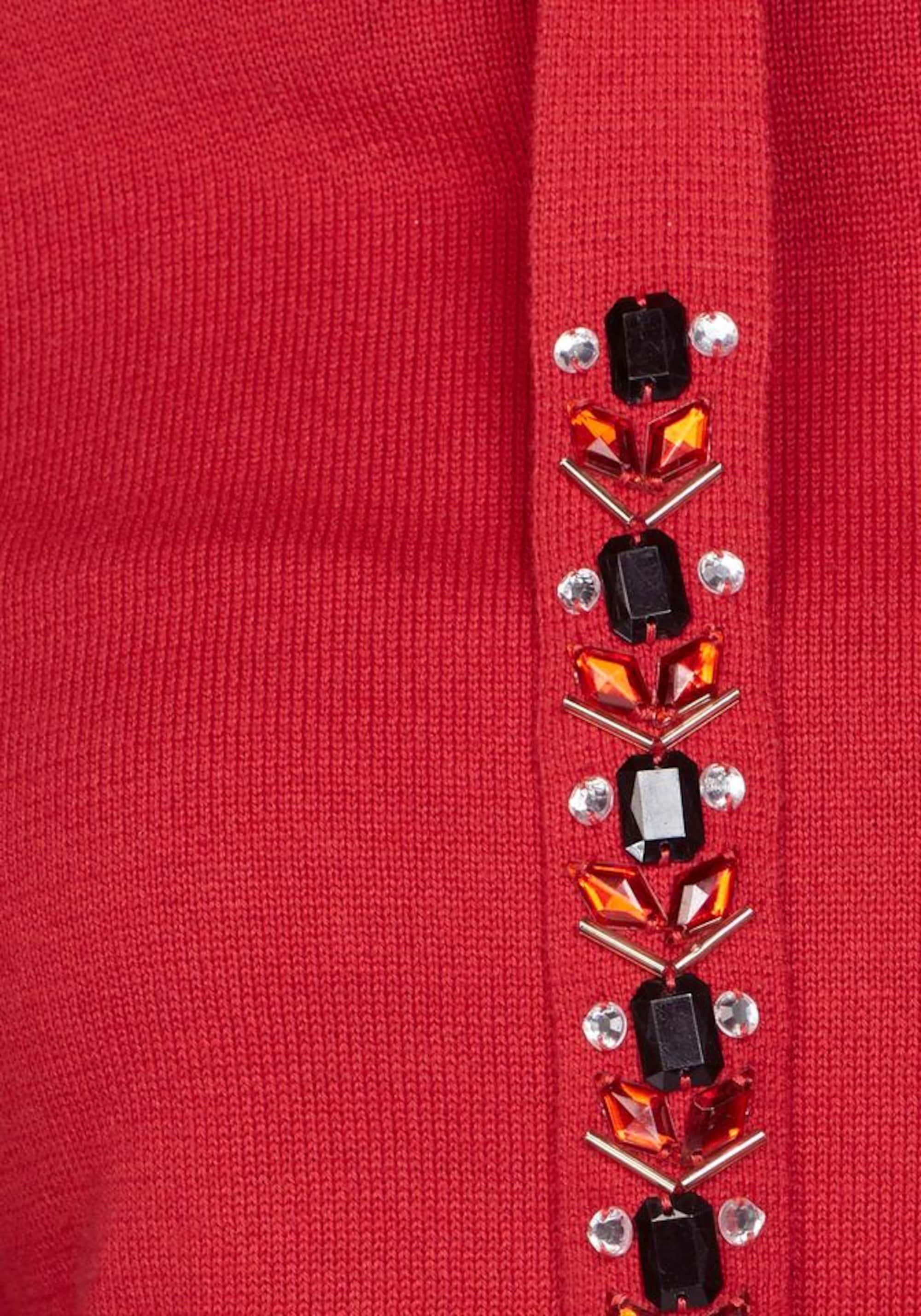 AJC Sweter  czerwony