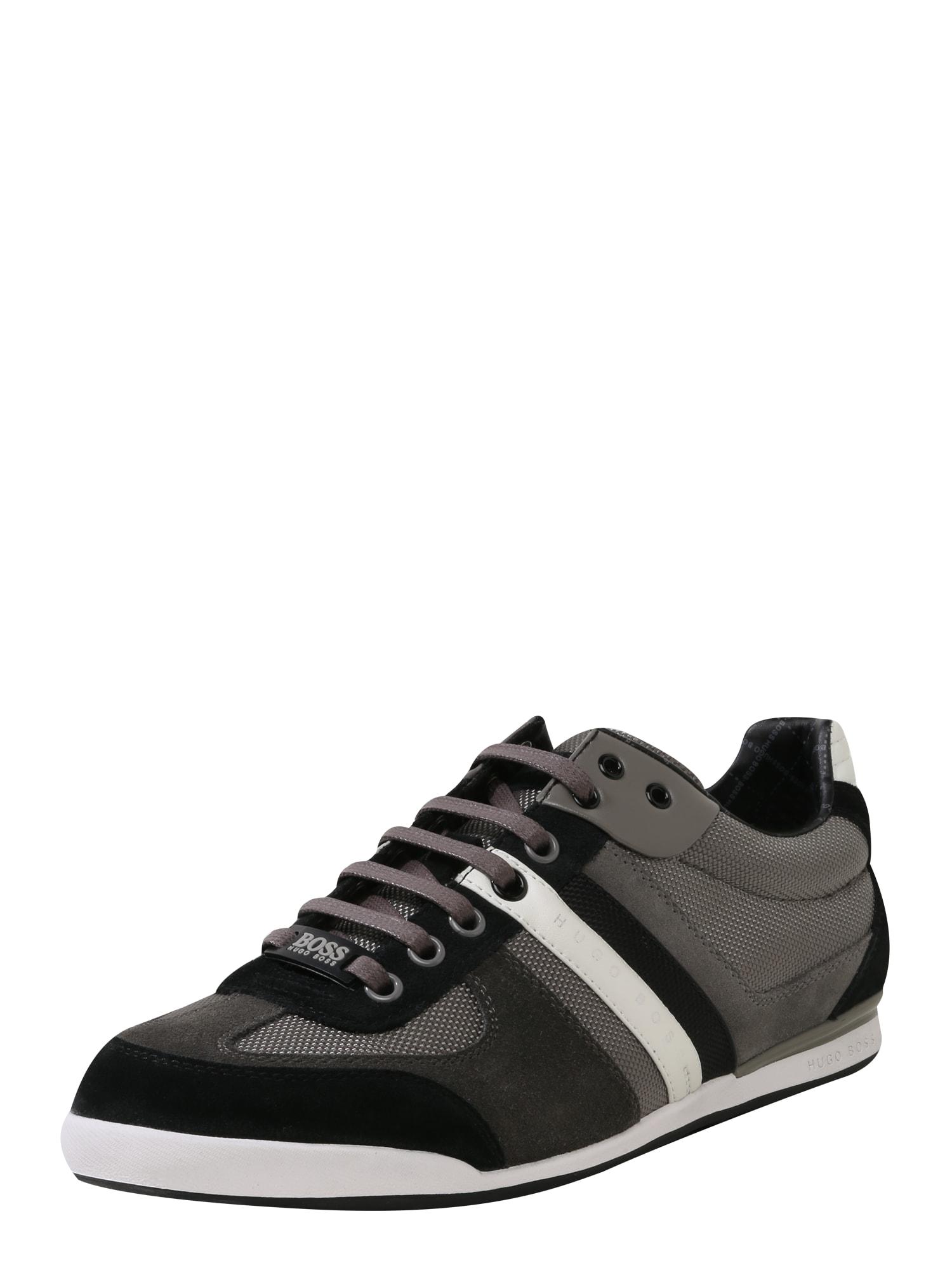 Sportovní šněrovací boty Akeen grafitová BOSS