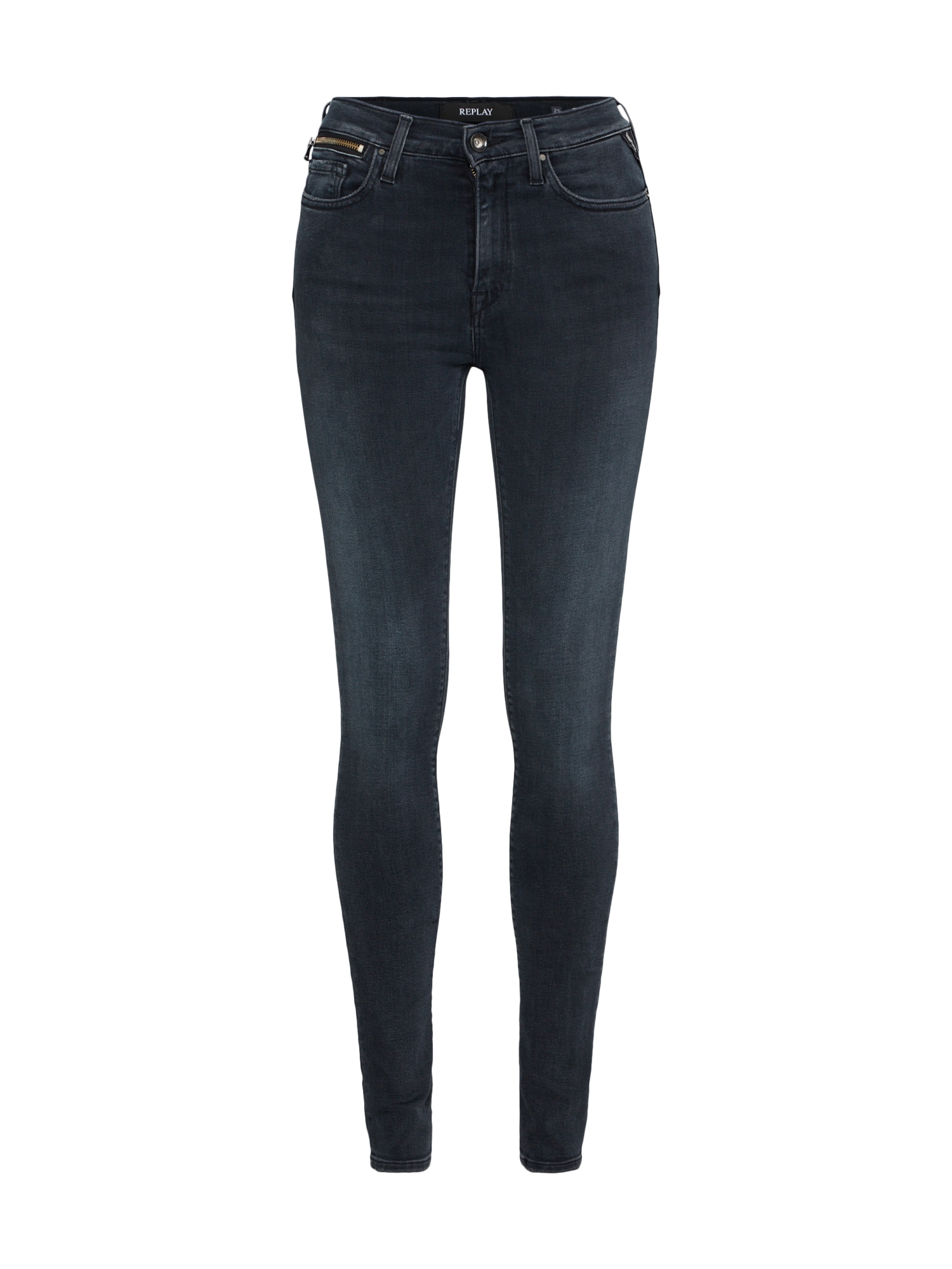 REPLAY Dames Jeans ZACKIE donkergrijs