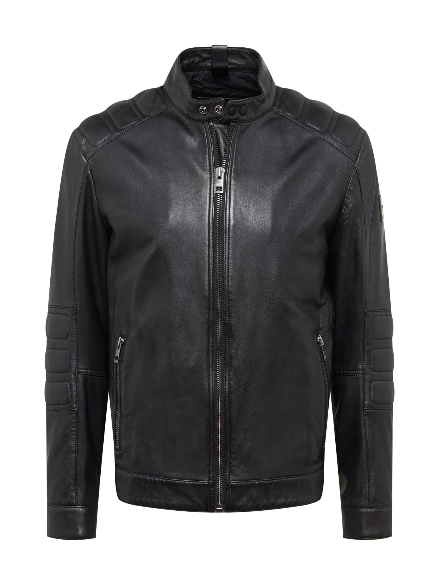 Přechodná bunda Jagson1 10217488 01 černá BOSS