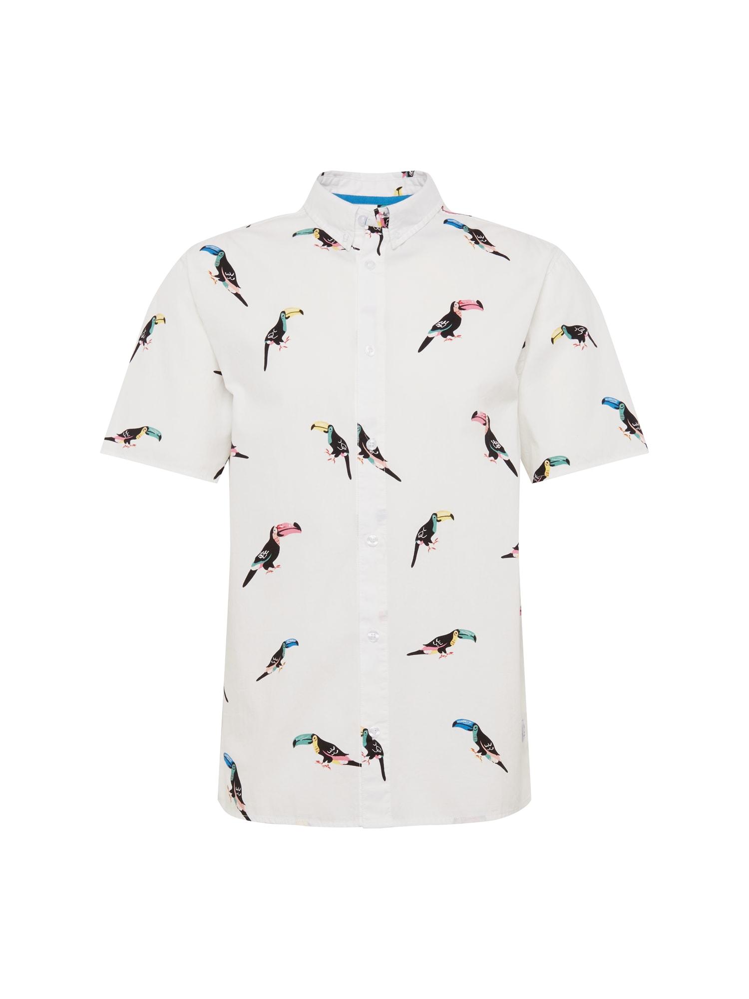 Košile Nicolas shirt mix barev bílá Revolution