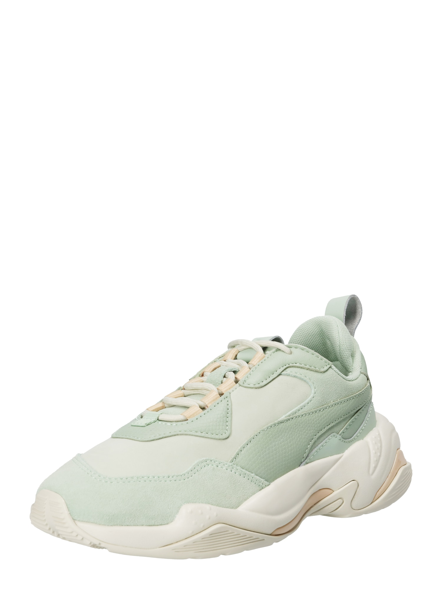 PUMA, Dames Sneakers laag 'Thunder Desert', jade groen / wit