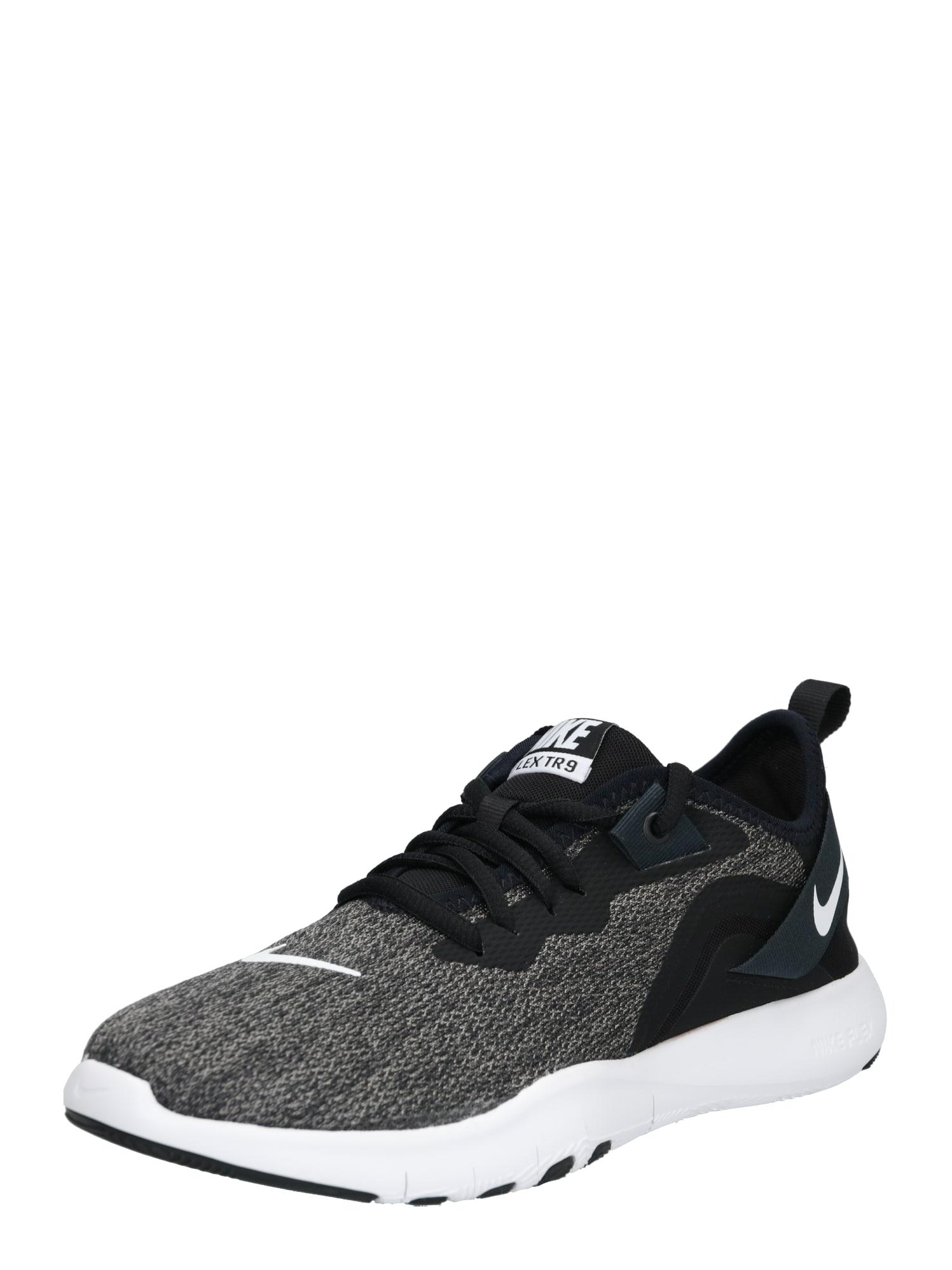 Sportovní boty Flex TR 9 tmavě šedá černá NIKE