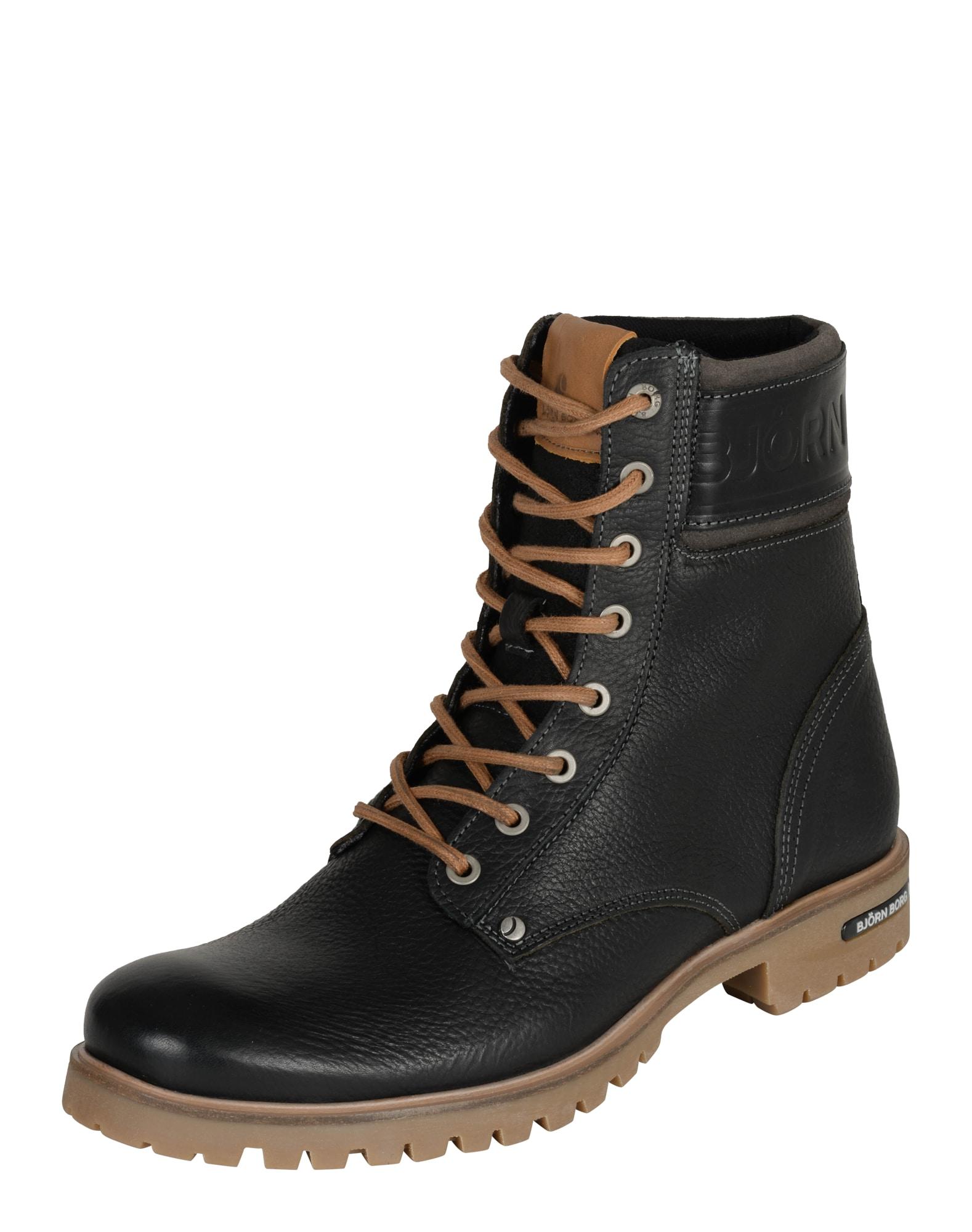 Šněrovací boty Kevin High  černá BJÖRN BORG