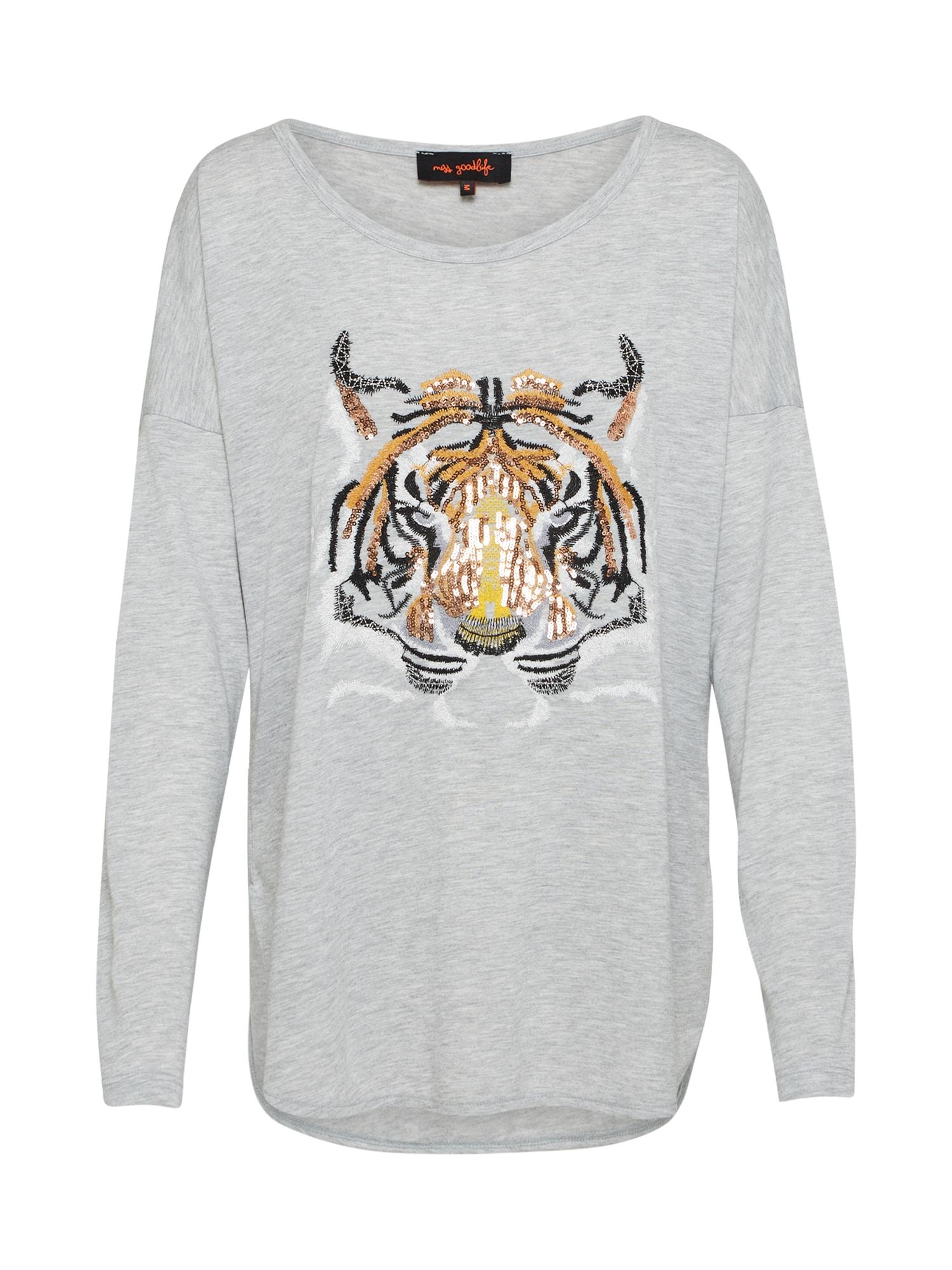 Tričko Tigerhead šedá Miss Goodlife