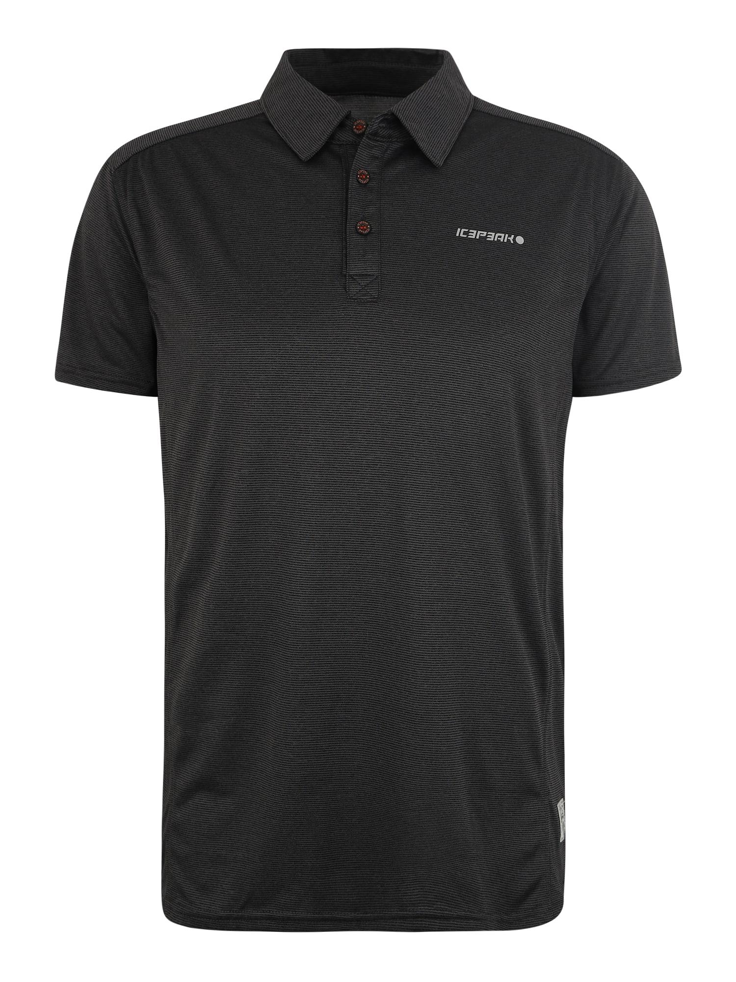 Funkční tričko SHARPA černá ICEPEAK