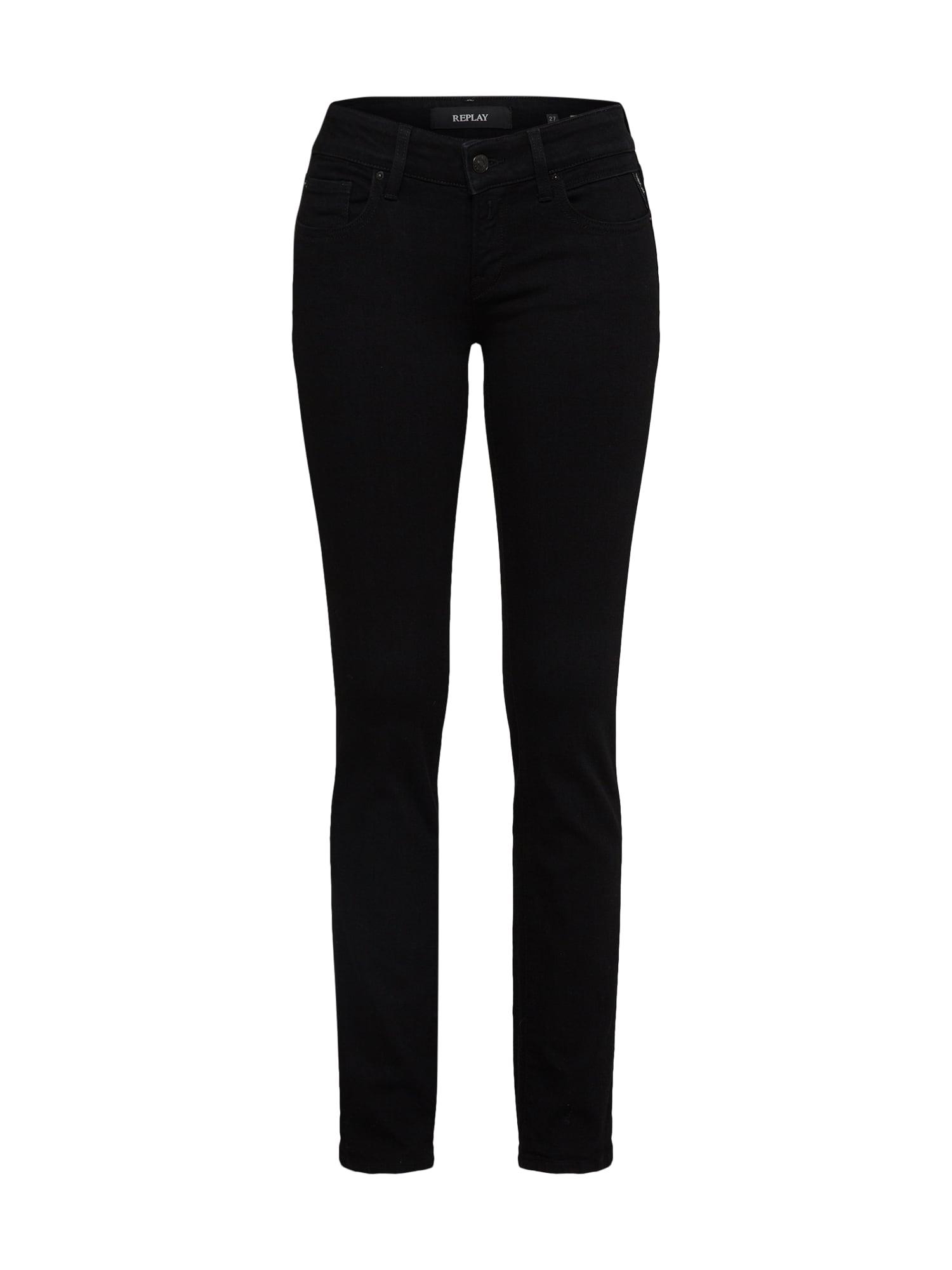 REPLAY Dames Jeans Vicki black denim