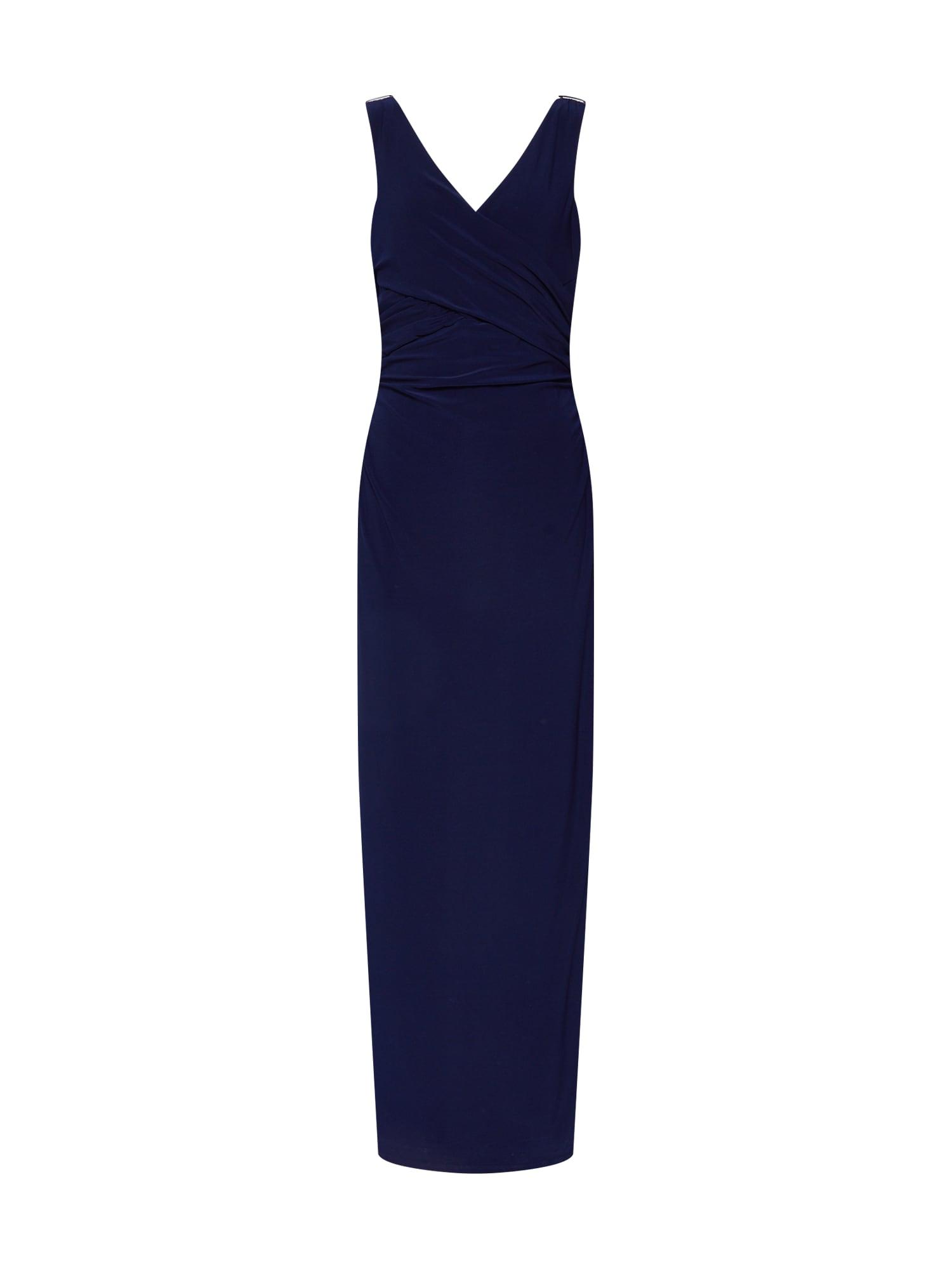 Společenské šaty JARLANNAH námořnická modř Lauren Ralph Lauren