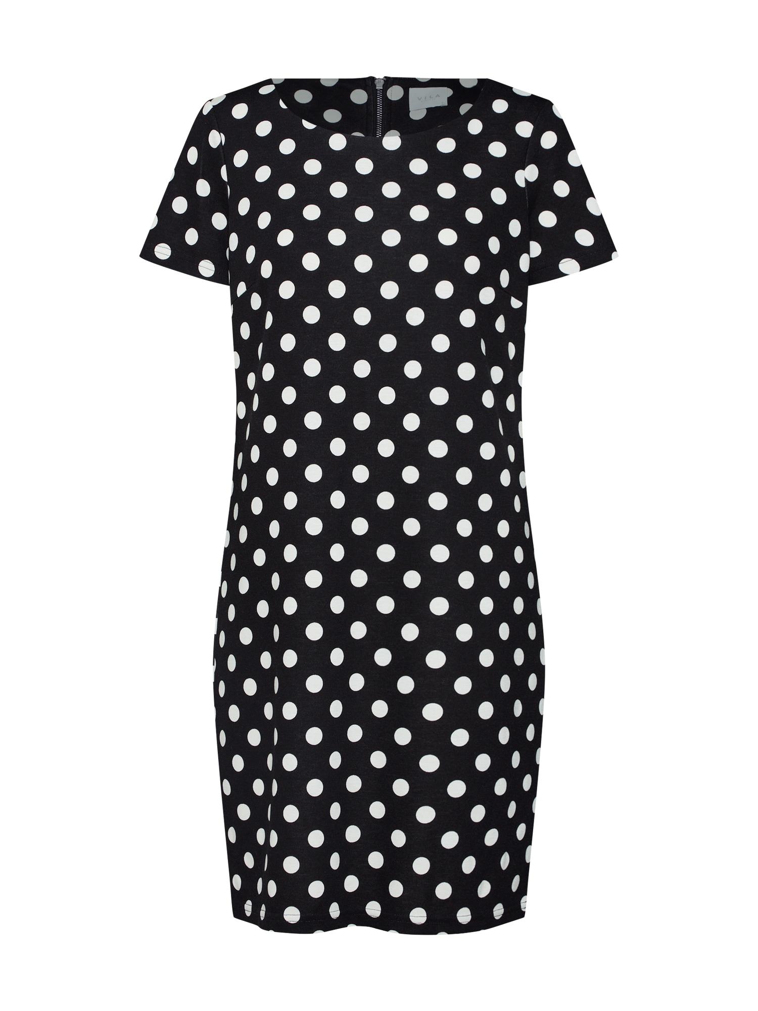 Letní šaty VITINNY černá bílá VILA
