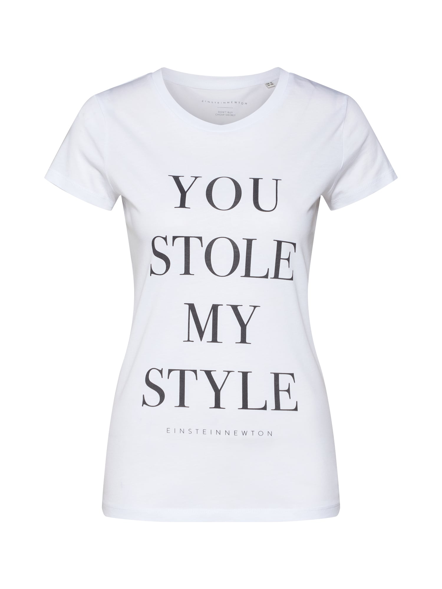 Tričko You Stole my Style bílá EINSTEIN & NEWTON