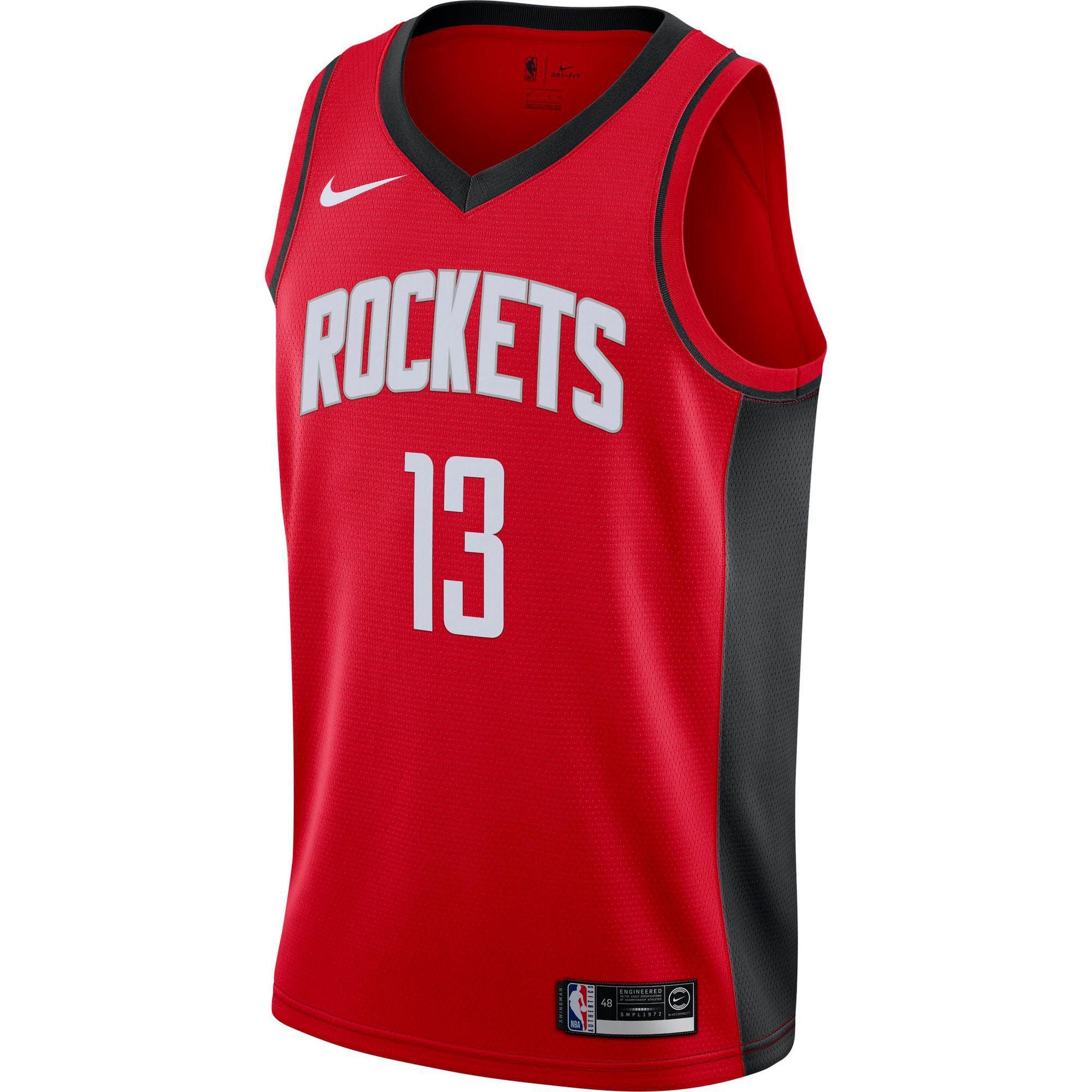 Basketballtrikot 'Harden James Houston Rockets' | Sportbekleidung > Trikots > Basketballtrikots | Nike