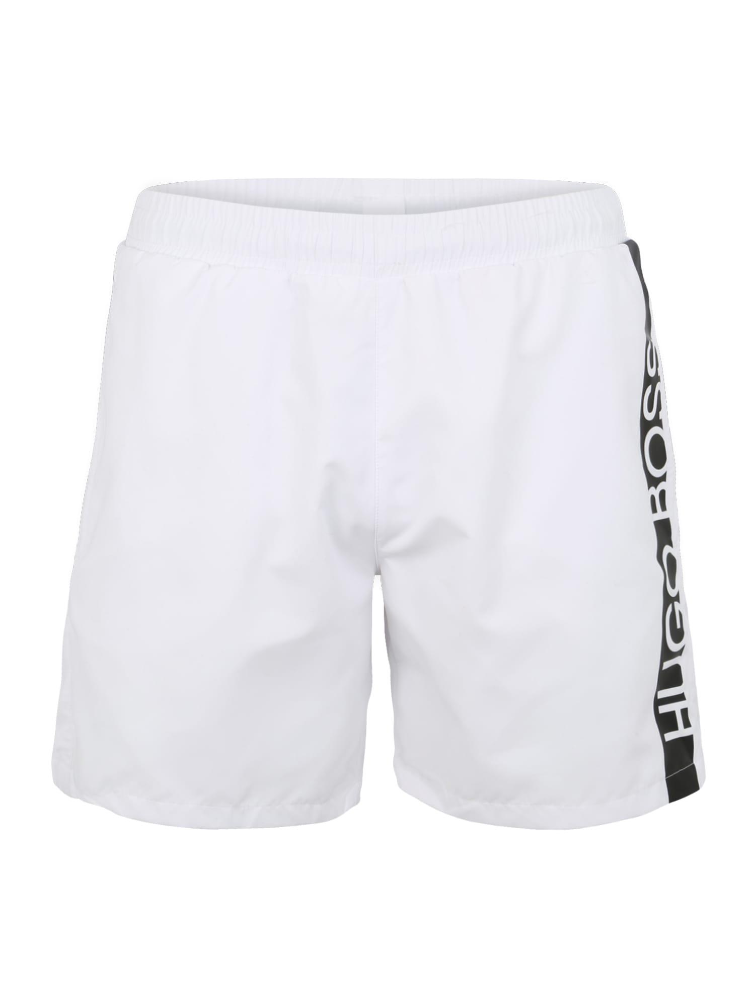Plavecké šortky Dolphin 10180964 02 černá bílá BOSS