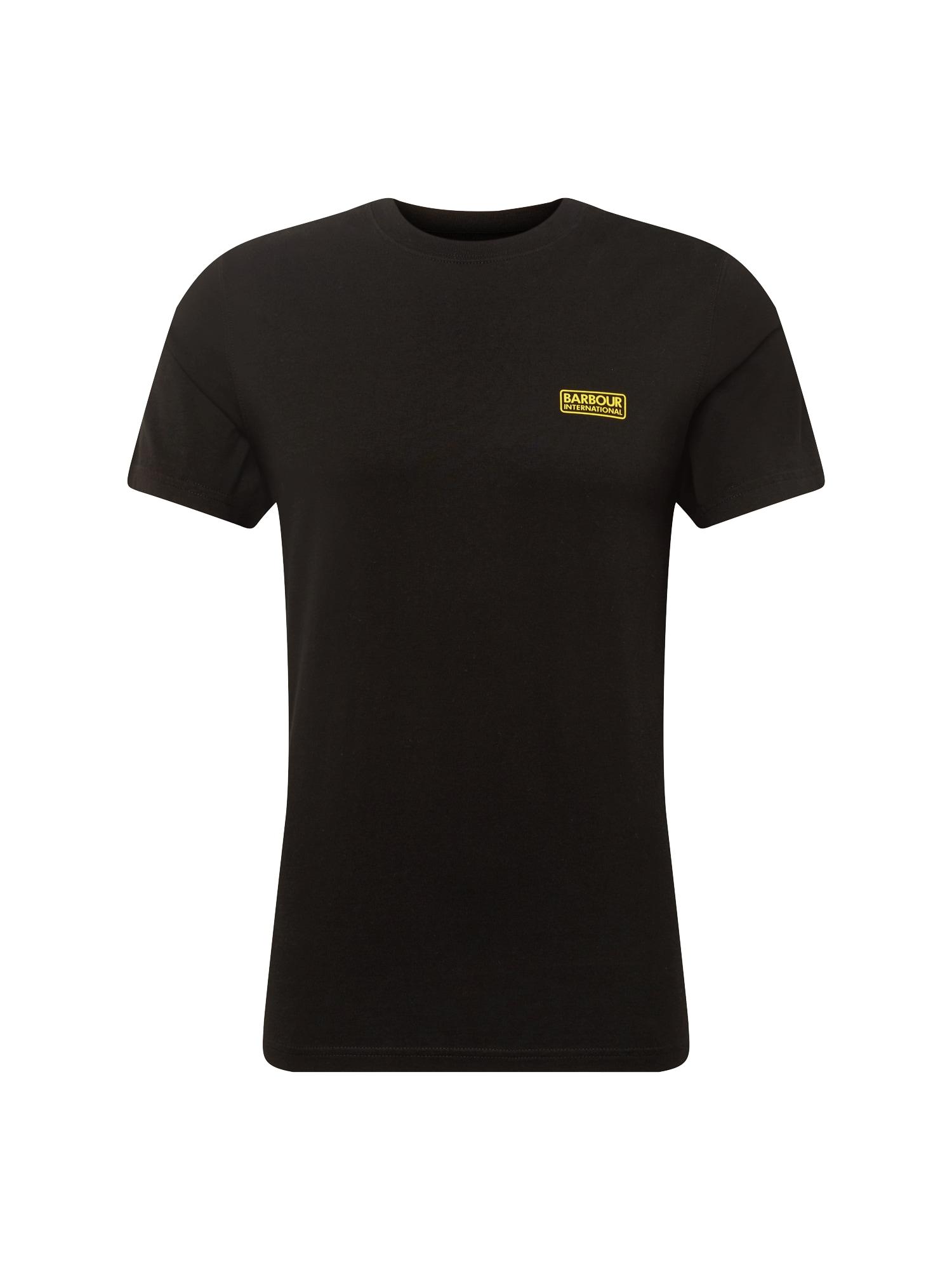 Tričko International Small žlutá černá Barbour International