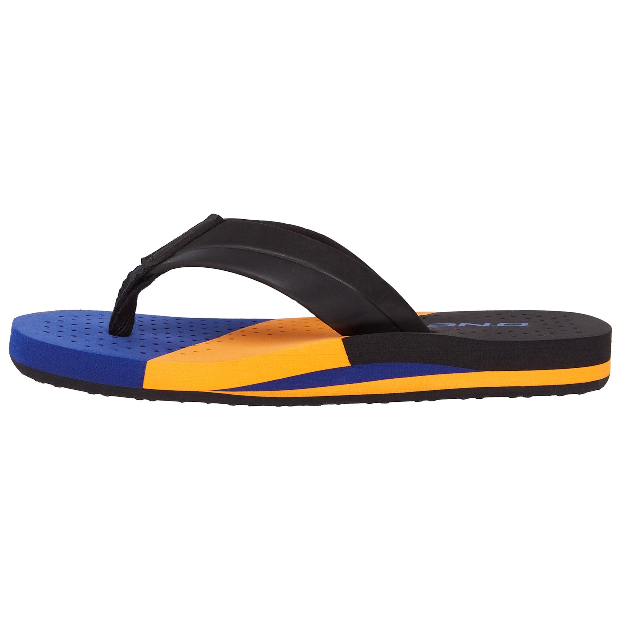 ONEILL Otevřená obuv FB IMPRINT PUNCH SANDALS modrá černá O'NEILL