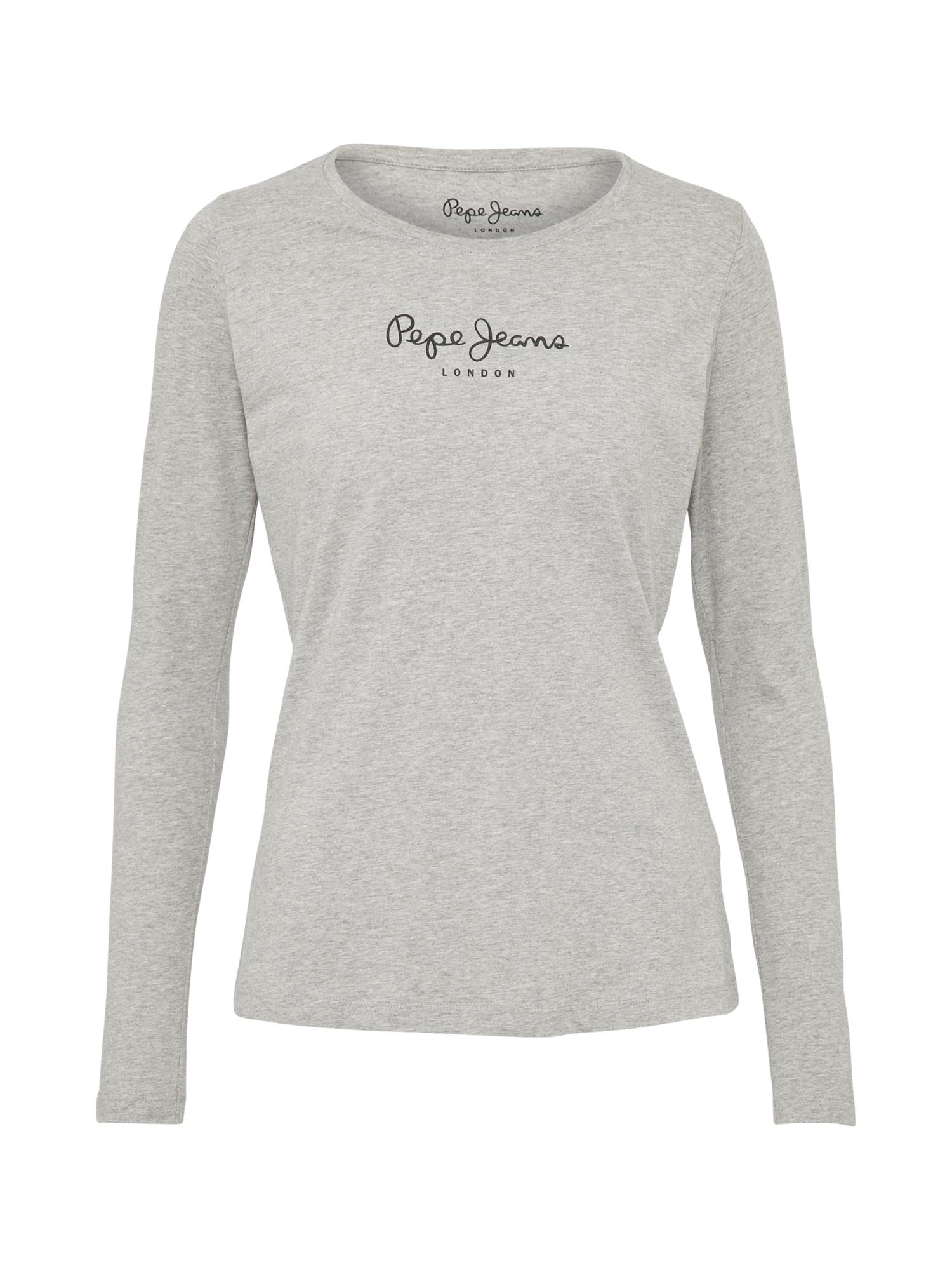 Pepe Jeans Dames Shirt NEW VIRGINIA L S grijs